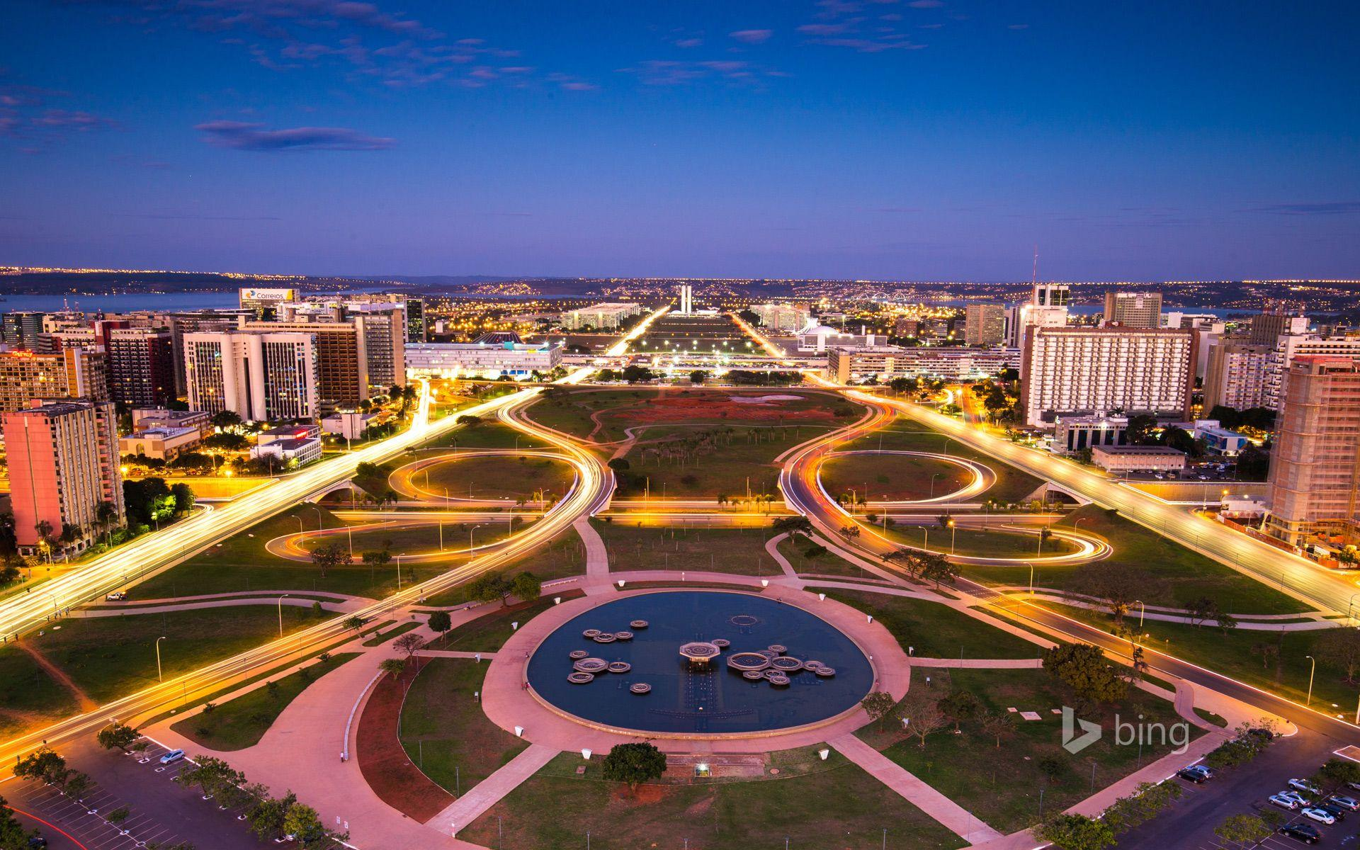 brasilia - Störst stad i Sydamerika