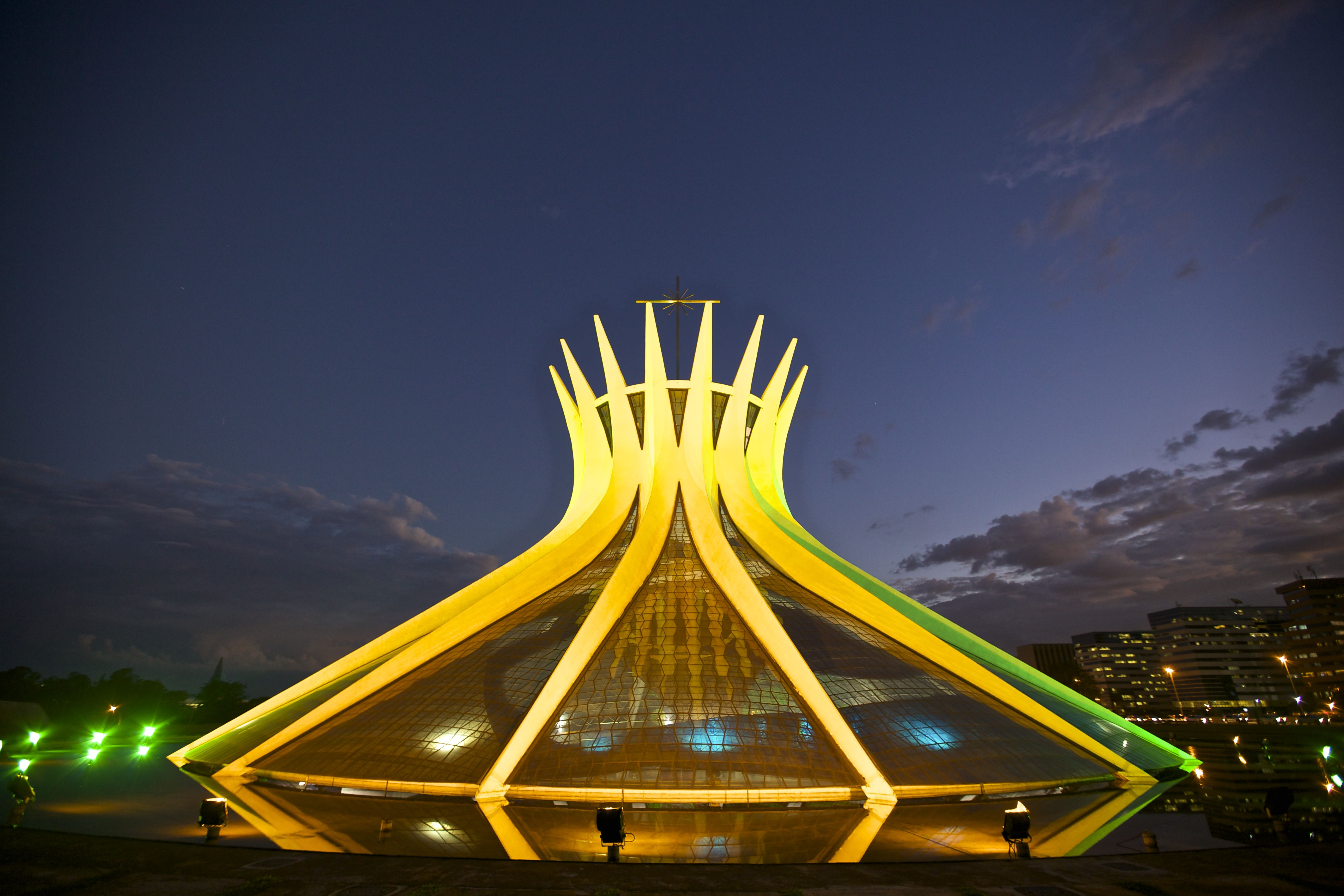 Cathedral of Brasília 5k Retina Ultra HD Wallpapers and Backgrounds