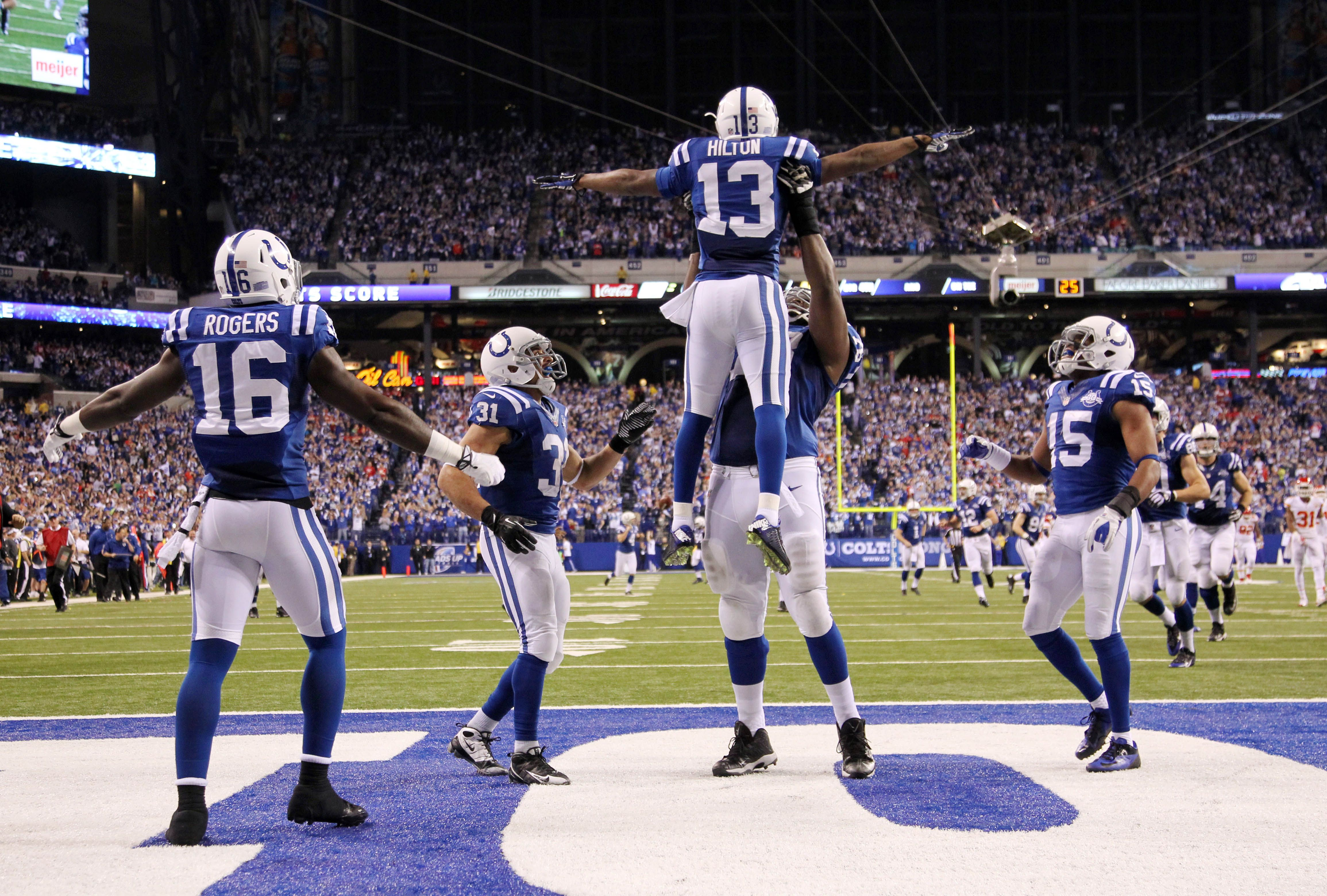 Colts Have Signed Ty Hilton To A Monstrous Deal; 5 Year, 65 ...
