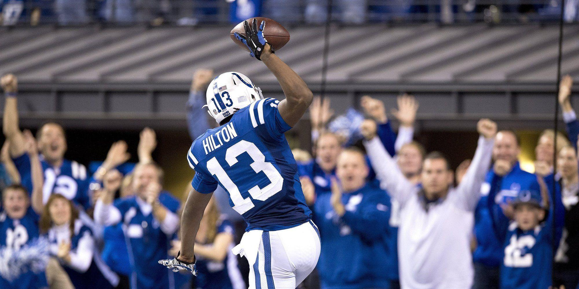 T.Y. Hilton Caught Colts' Game-Winning Touchdown To Cap Historic ...