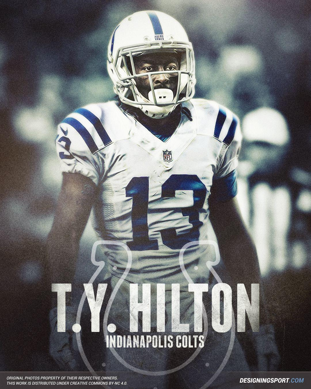 Designing Sport — T.Y. Hilton, Indianapolis Colts | DesigningSport ...