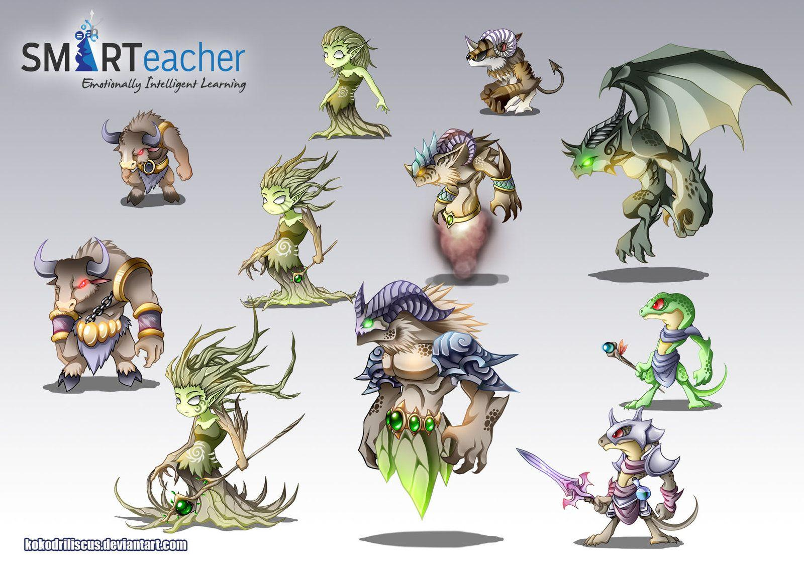 Prodigy Earth Monsters by Dragolisco on DeviantArt