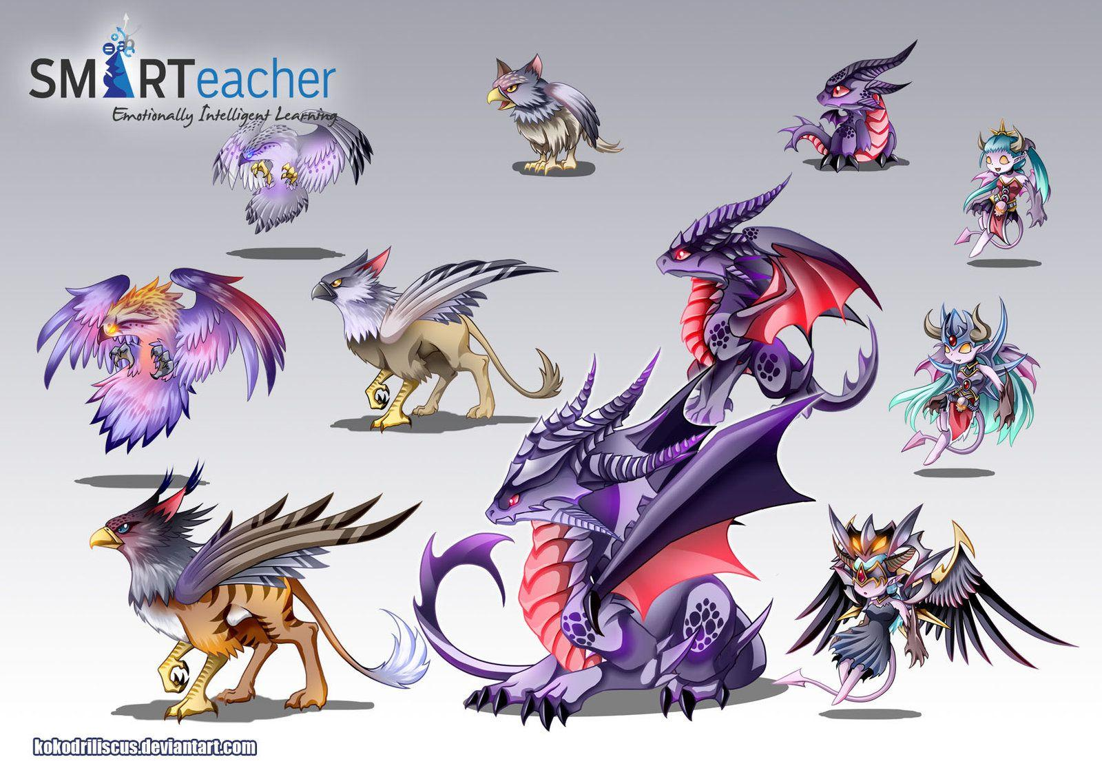 Prodigy Air Monsters by Dragolisco on DeviantArt