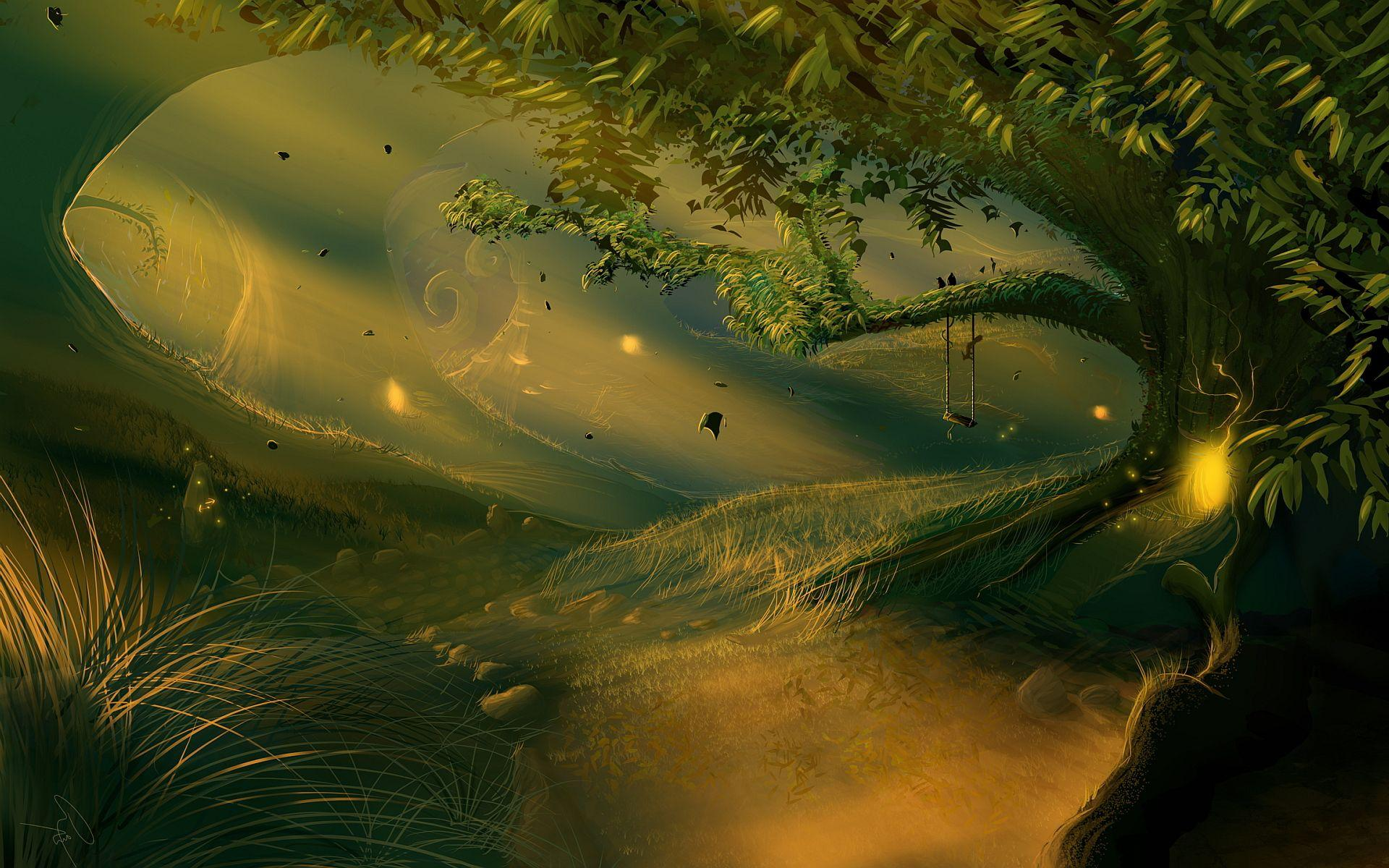 Magic Forest Wallpapers - Wallpaper Cave