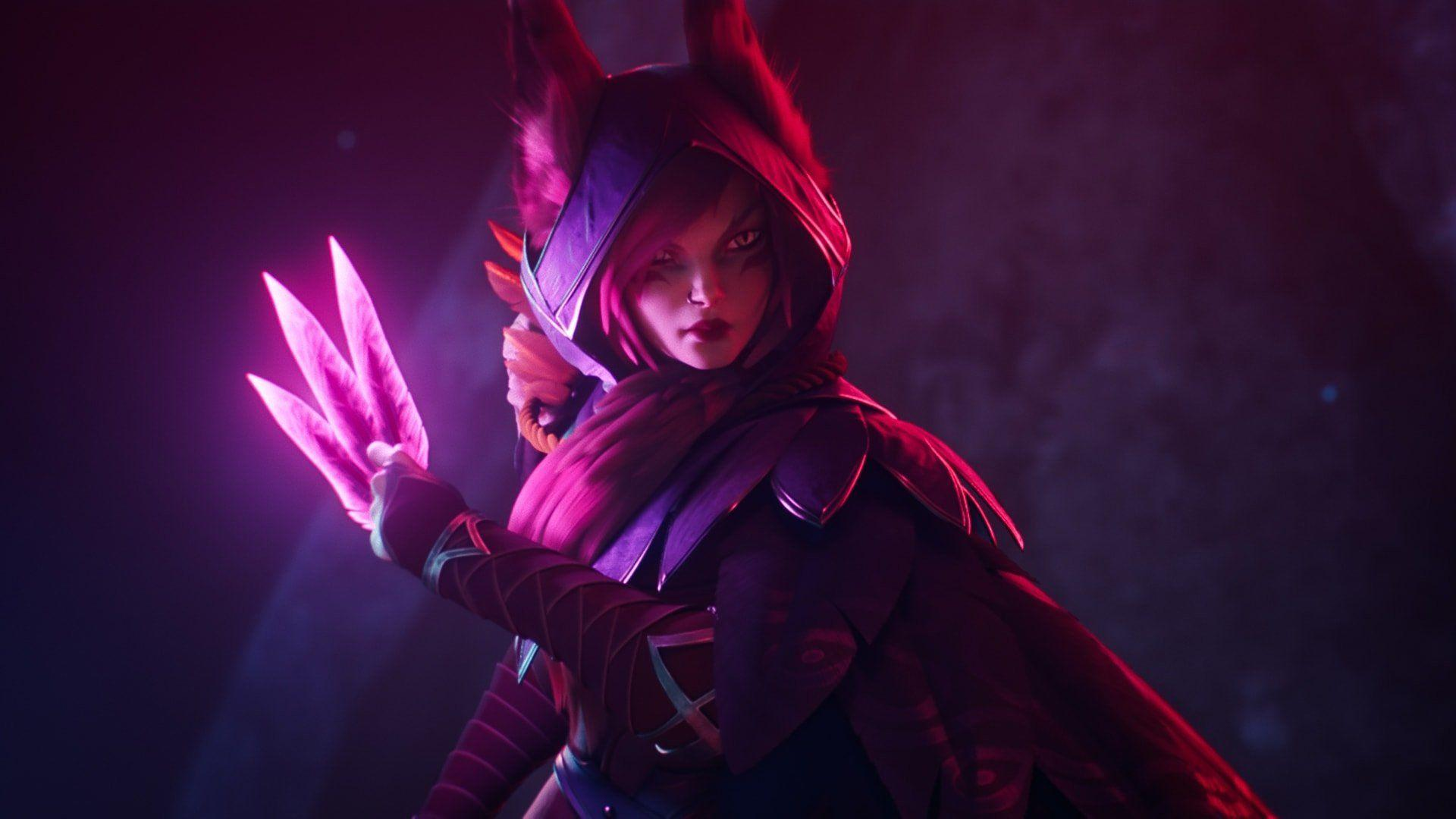 6 Xayah (League of Legends) HD Wallpapers | Backgrounds ...