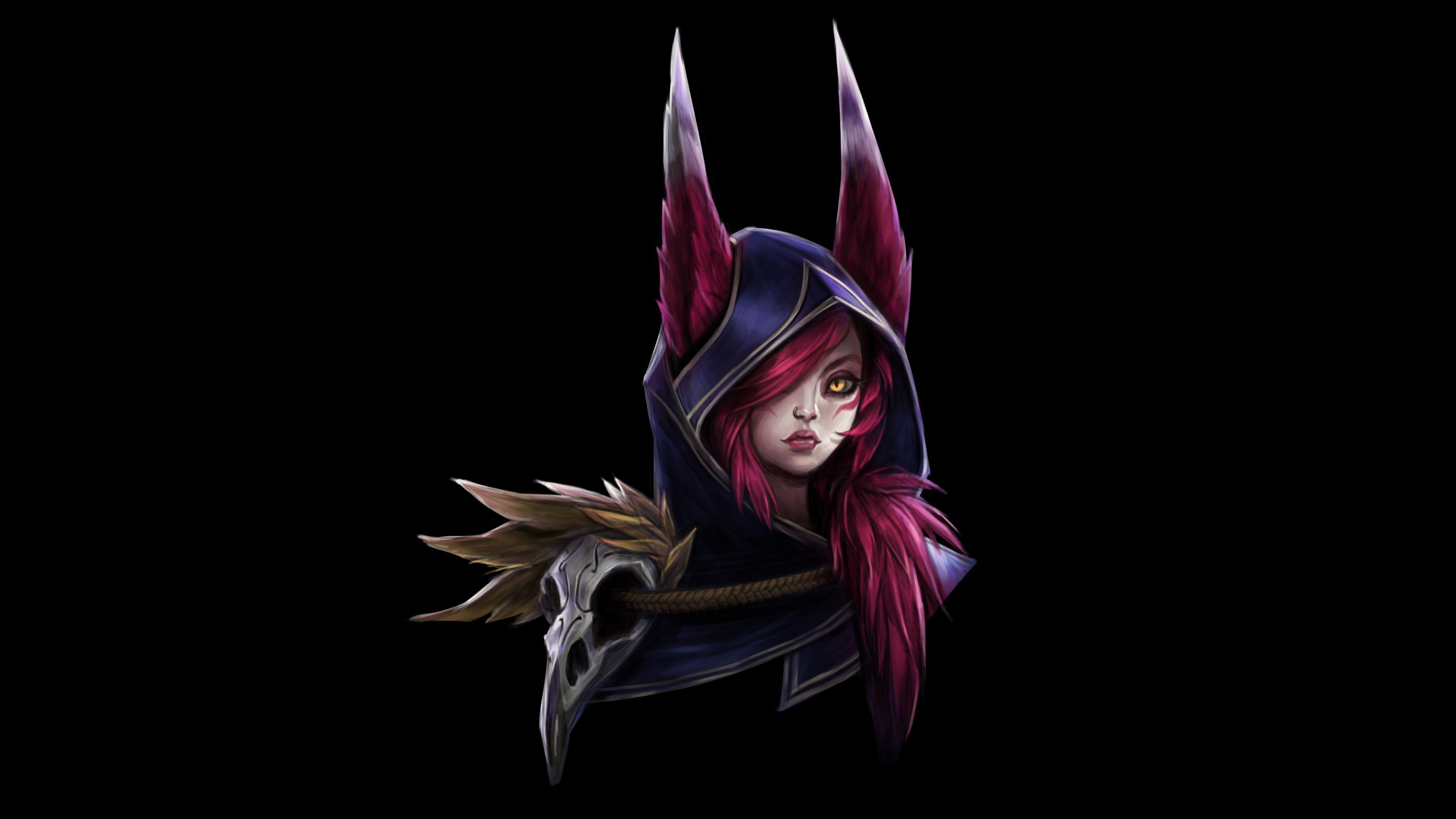 Xayah Portrait | LoL Wallpapers
