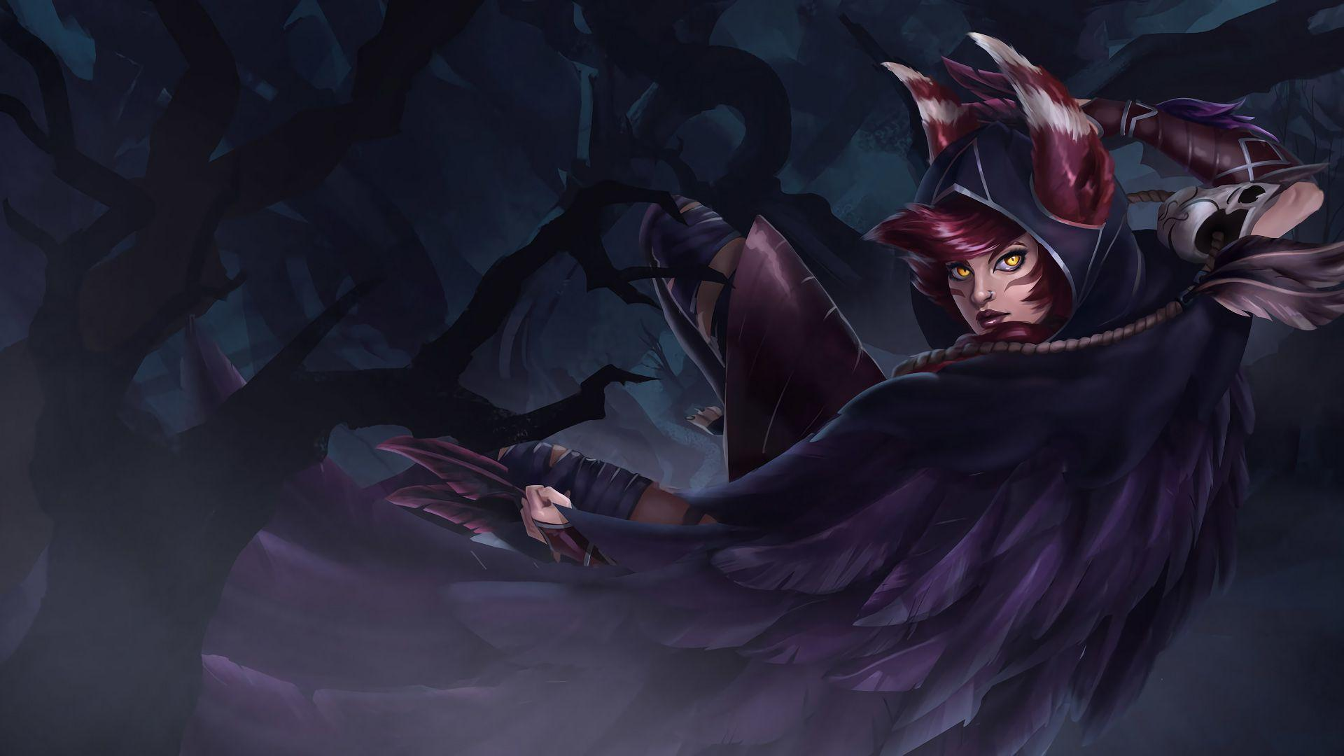 Xayah | LoL Wallpapers