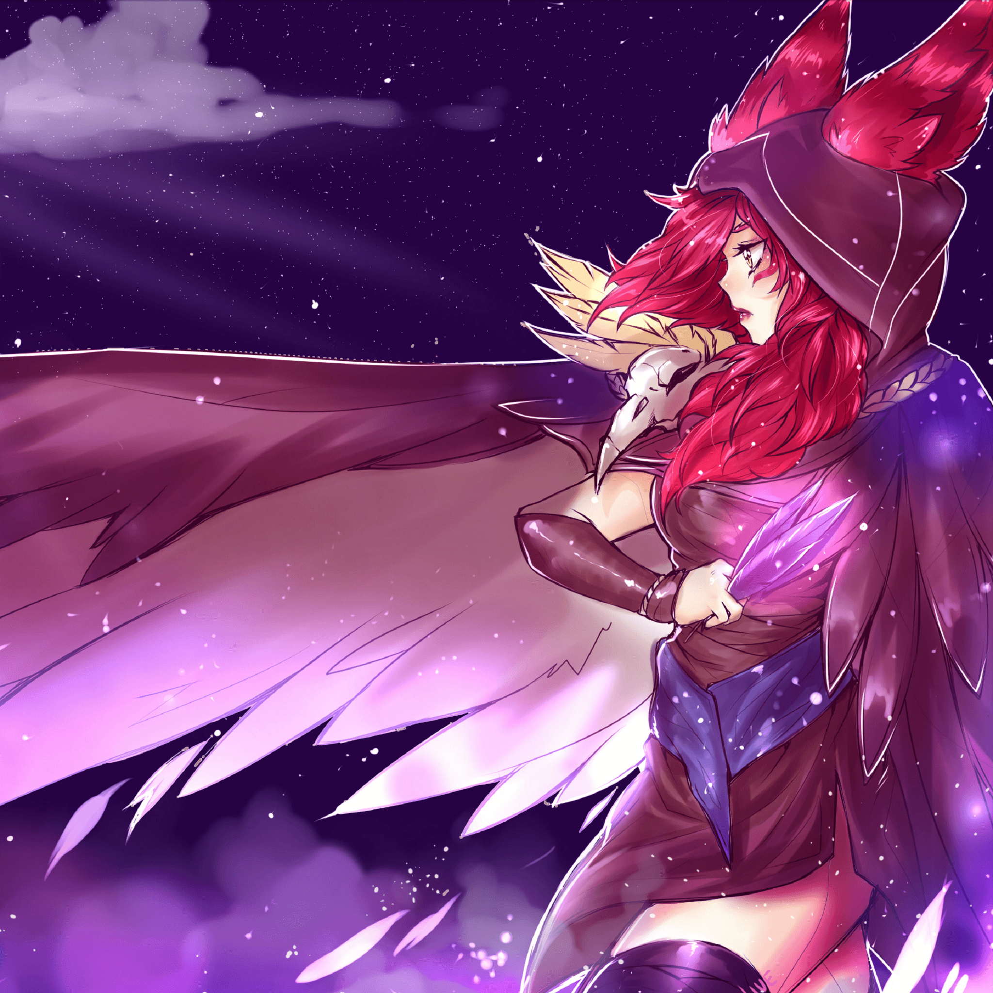 Download Xayah League of Legends 2048 x 2048 Wallpapers - 4746399 ...