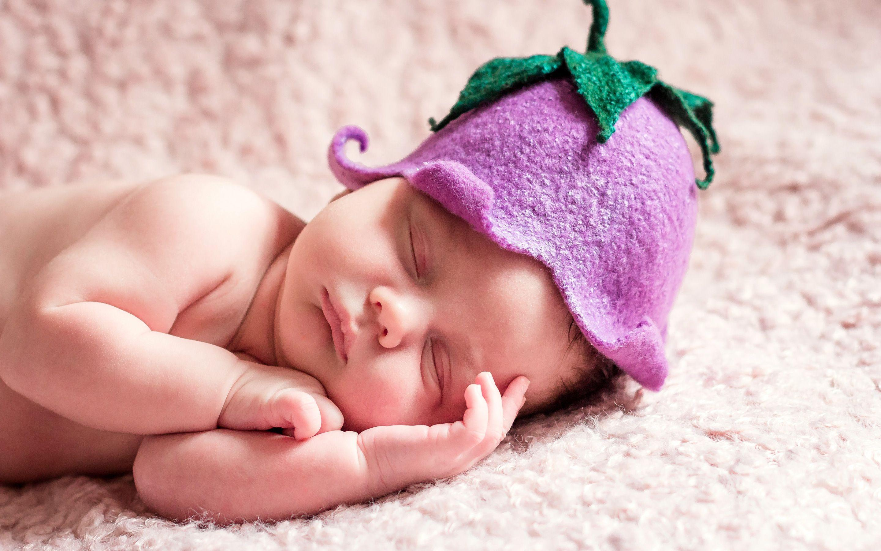 Cute Sleeping Newborn Baby Wallpapers | HD Wallpapers