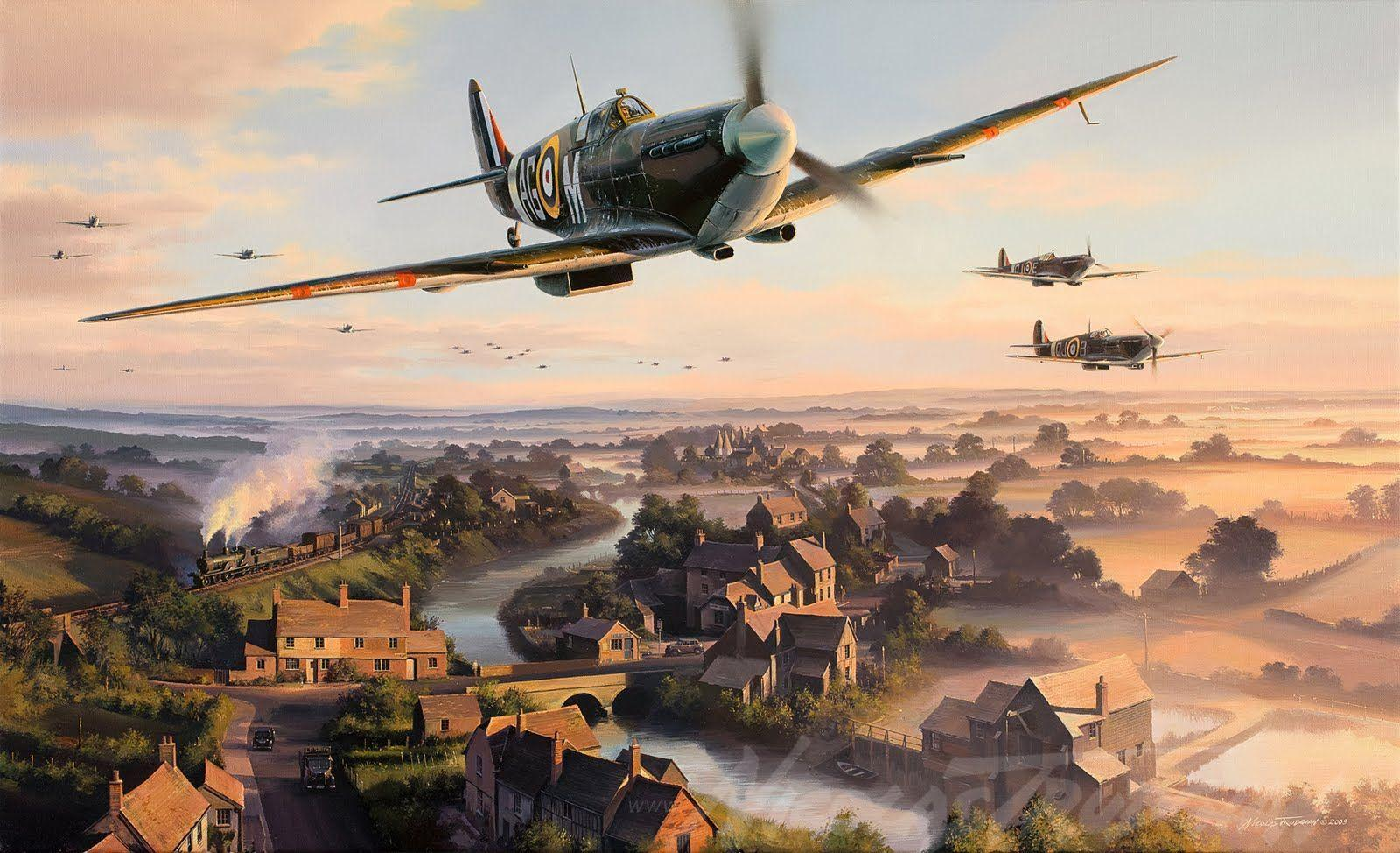 Supermarine Spitfire Wallpapers Wallpaper Cave