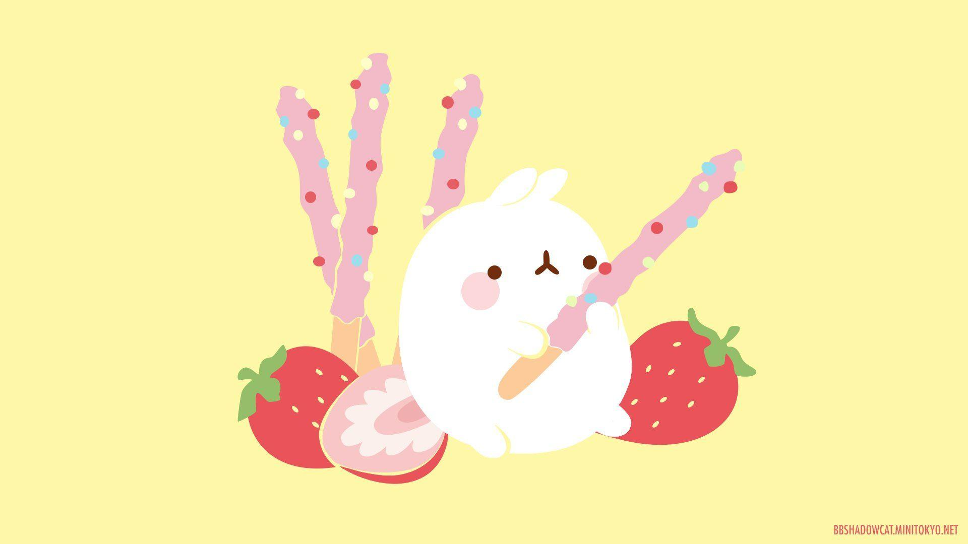 2 Molang HD Wallpapers | Backgrounds - Wallpaper Abyss