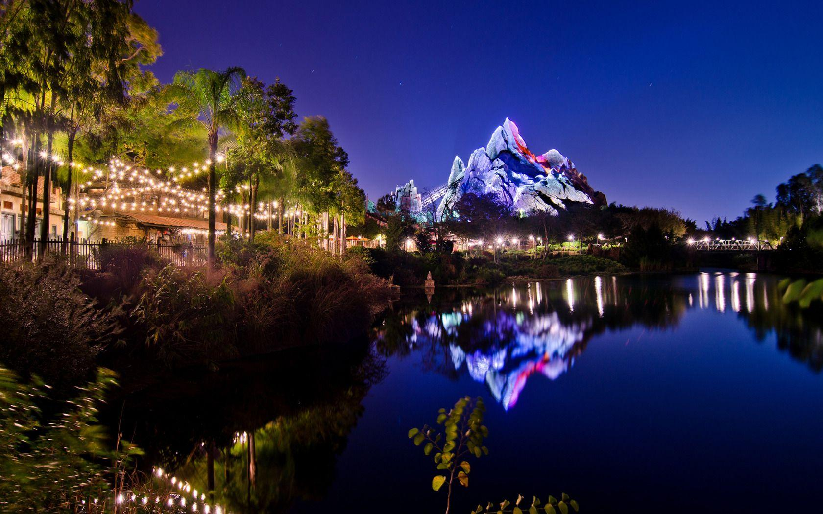 Disney's Animal Kingdom Asia At Night free walt disney world ...
