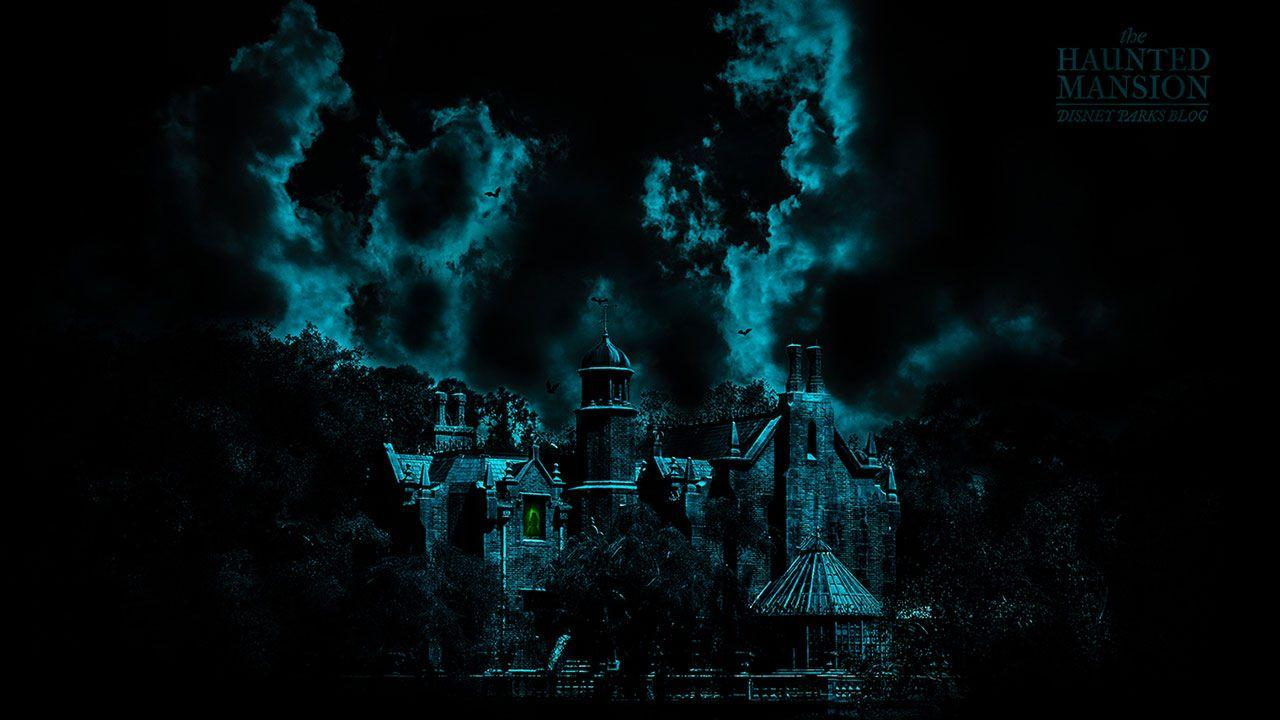 45th Anniversary Wallpaper: The Haunted Mansion | Disney Parks Blog