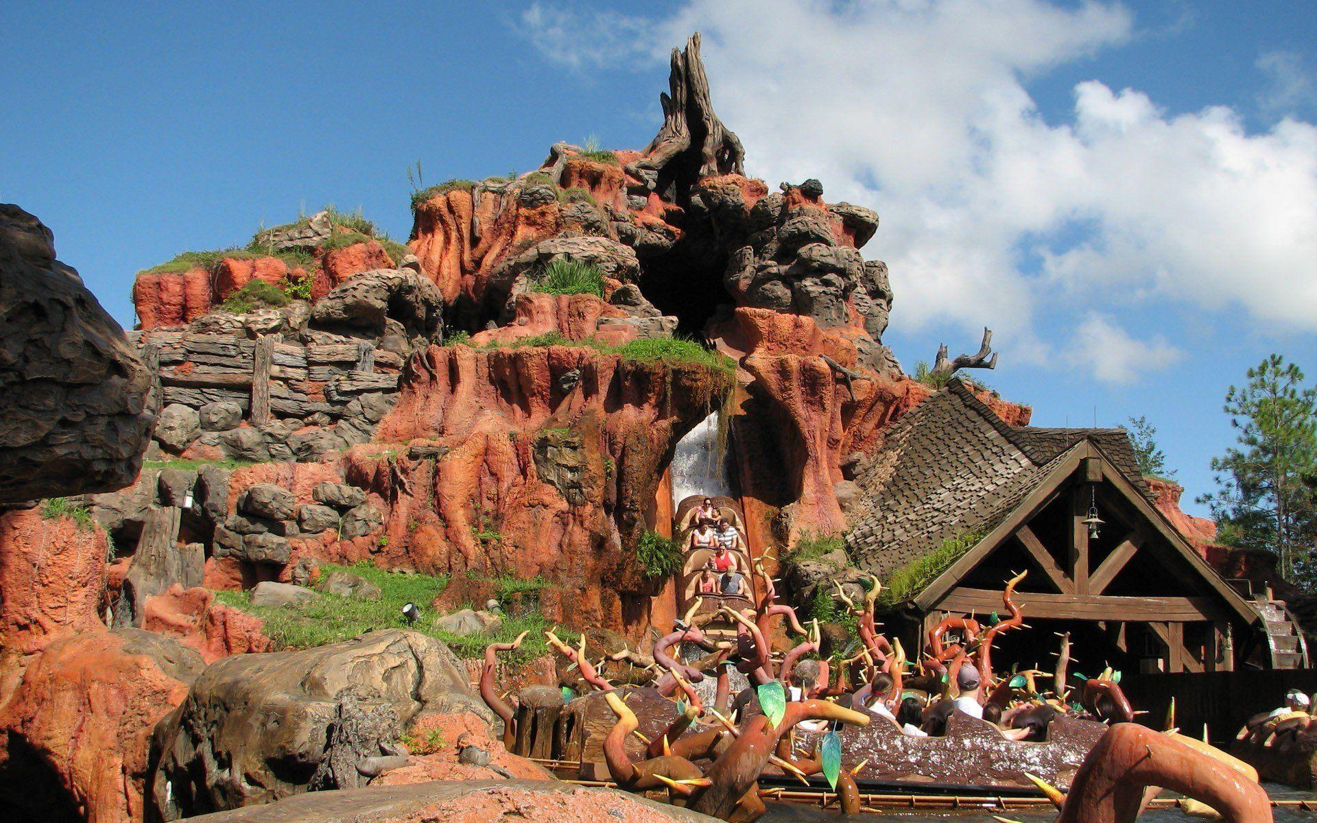 Splash Mountain - Walt Disney World - WallDevil