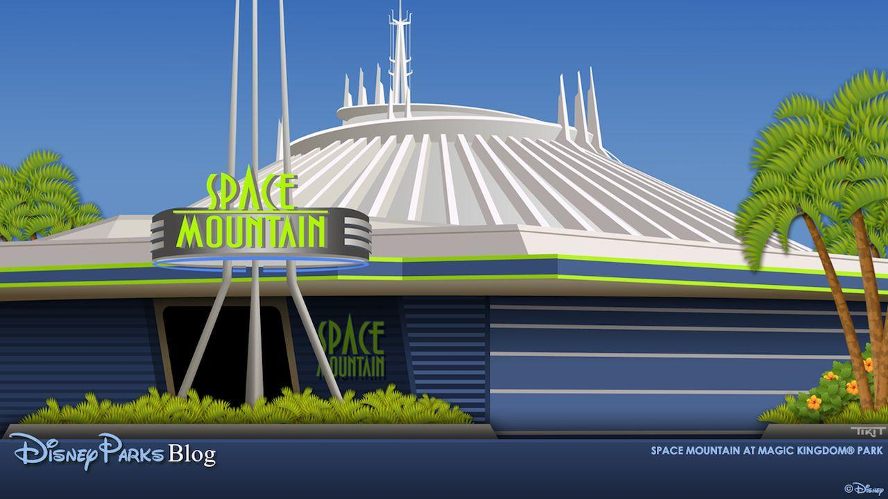 Download Our Space Mountain Wallpaper | Disney Parks Blog