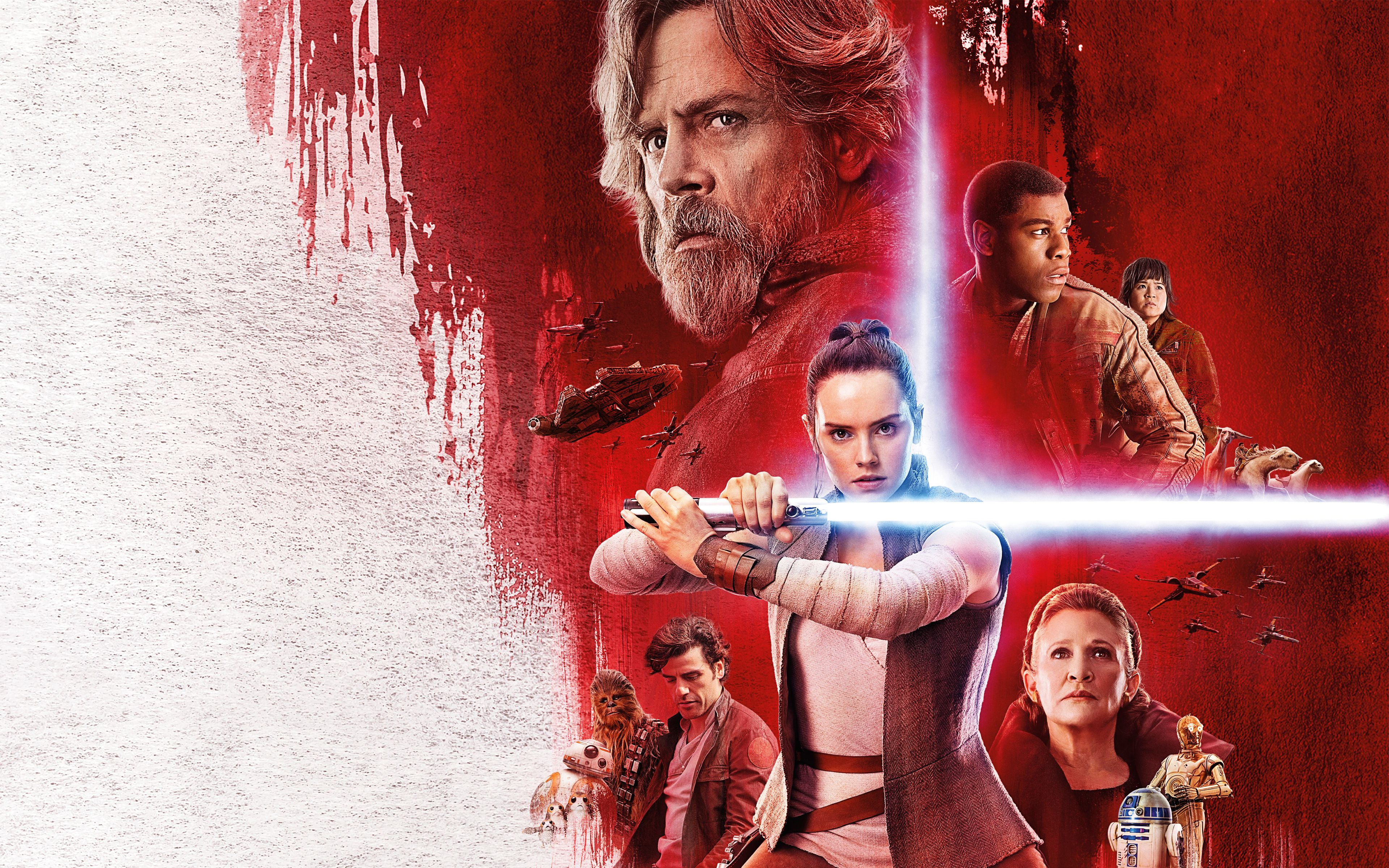 Star Wars The Last Jedi 2017 Wallpapers Wallpaper Cave