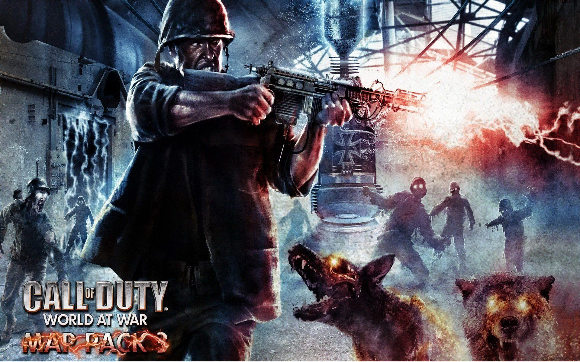 Call of duty ww2 zombies wallpapers wallpaper cave - Call of duty ww2 desktop ...