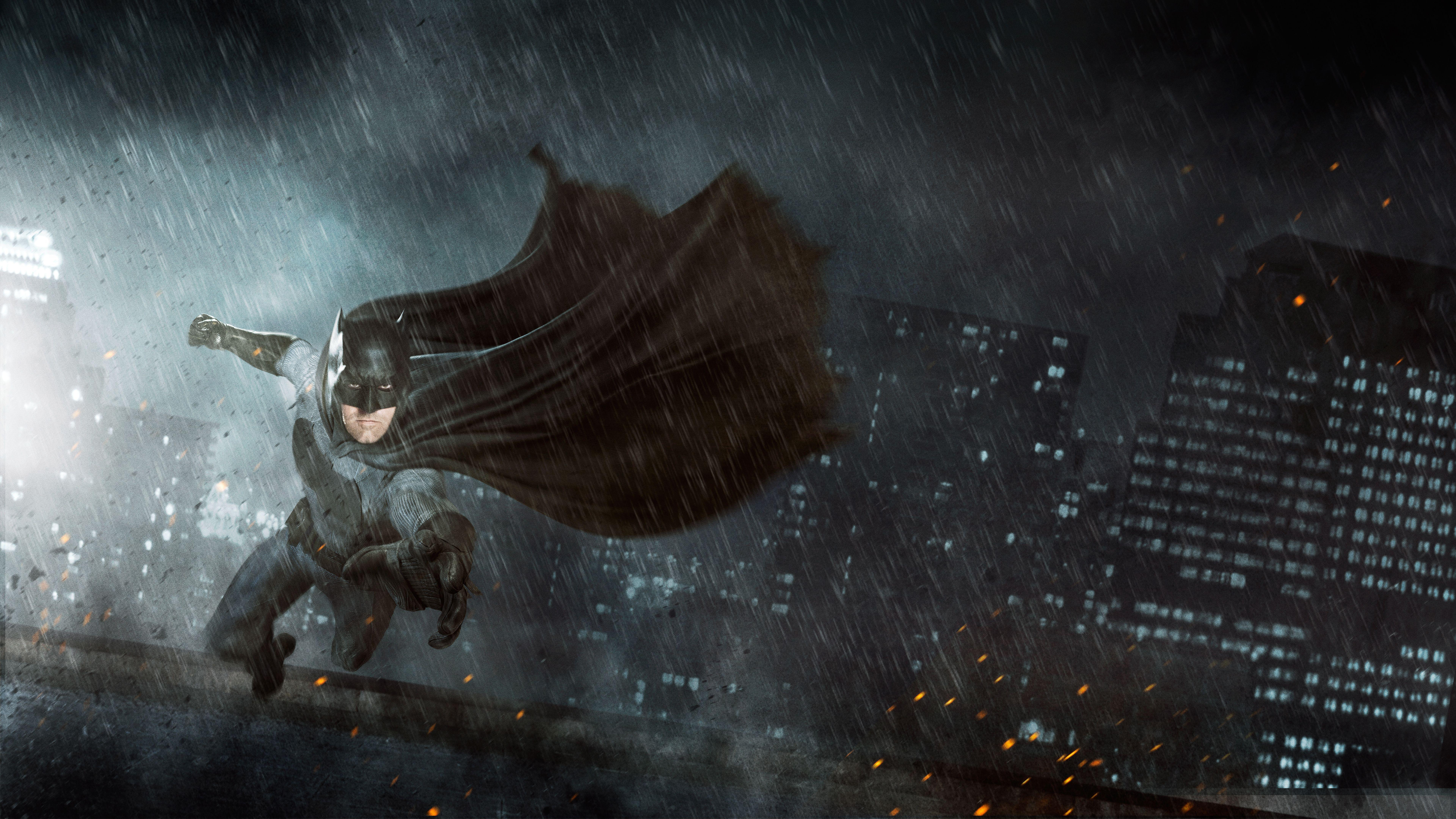 Wallpapers The Batman, Ben Affleck, Concept art, 4K, 8K, Movies,