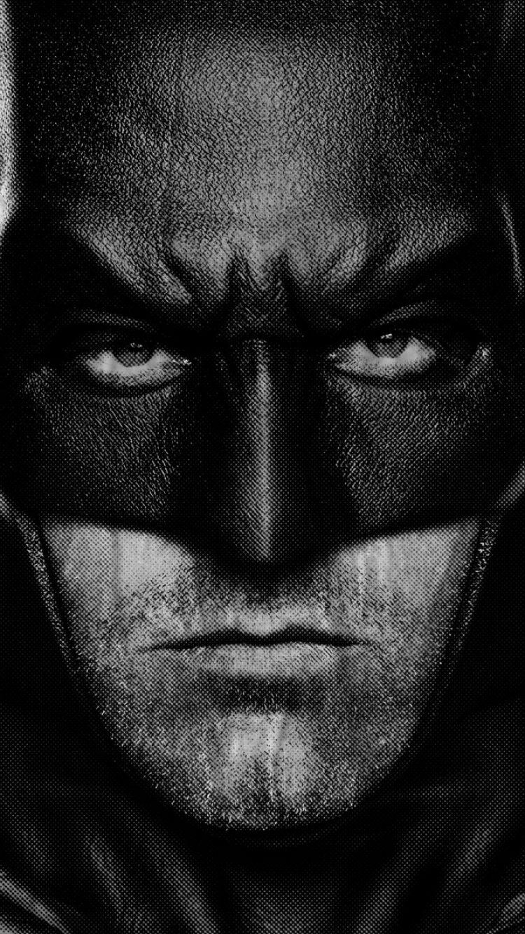 Download Wallpapers 750x1334 Batman v superman, Dawn of justice