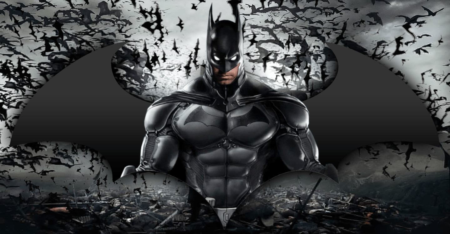 Ben Affleck as Batman based upon Arkham videogames by luisbury