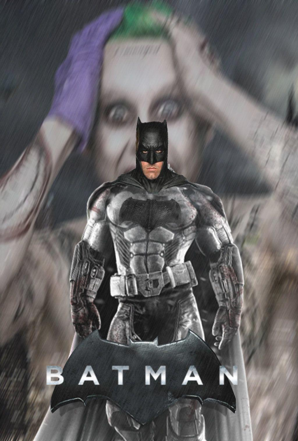 Ben Affleck Batman Poster by Mumba398