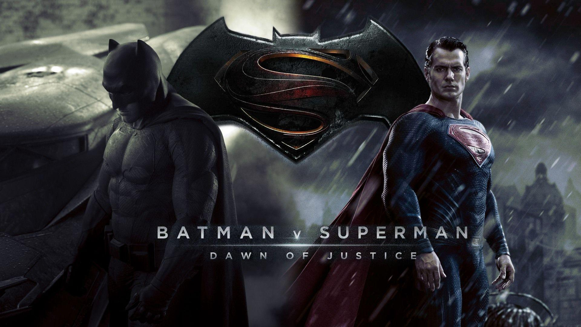 Download Wallpapers 1920x1080 Batman v superman dawn of justice