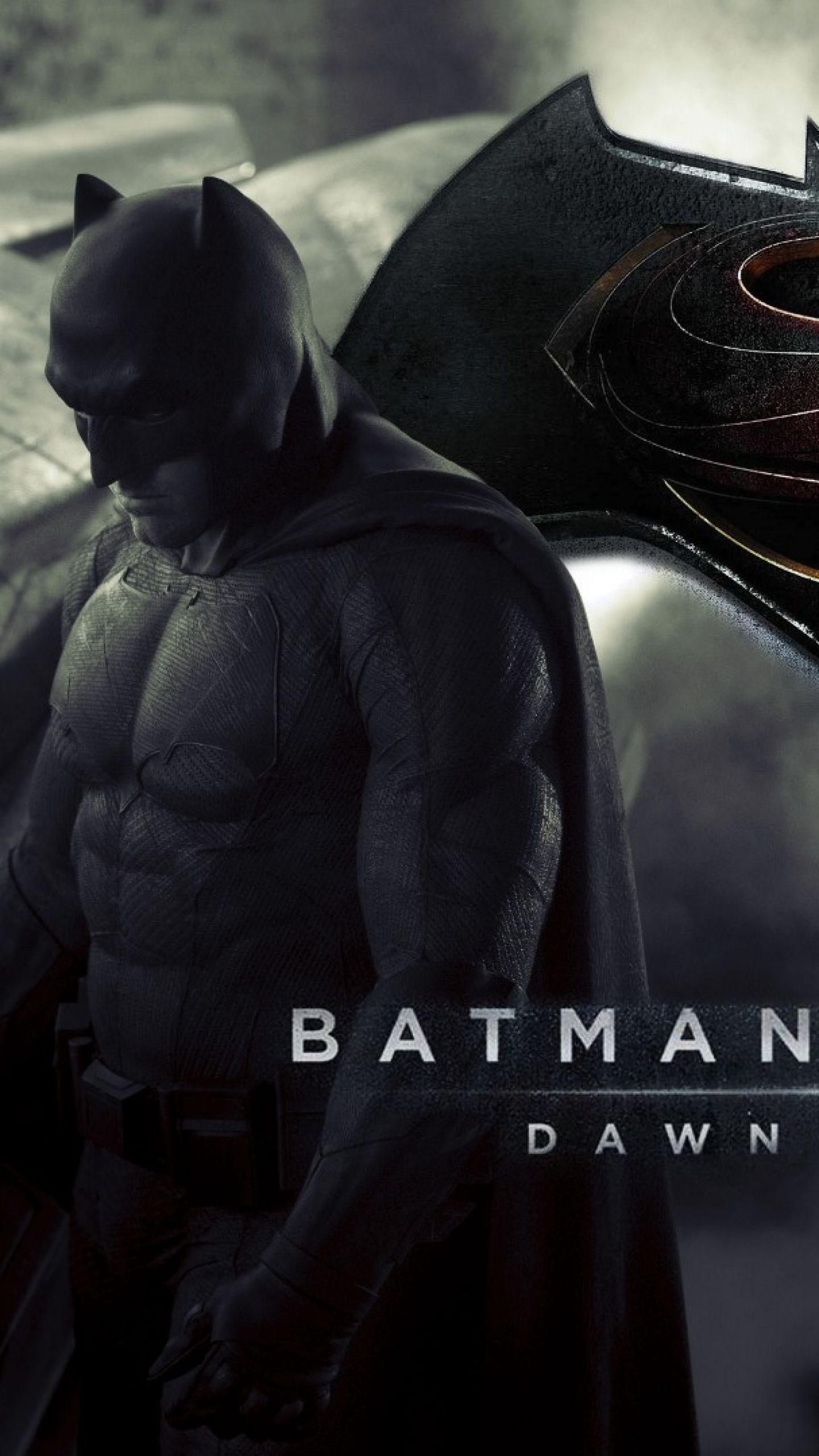 Download Wallpapers 1440x2560 Batman v superman dawn of justice