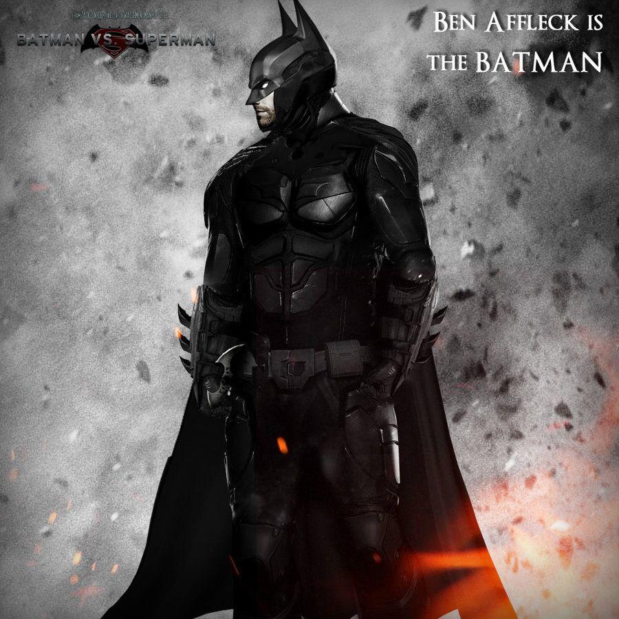 Ben Affleck as Batman concept by TouchboyJ