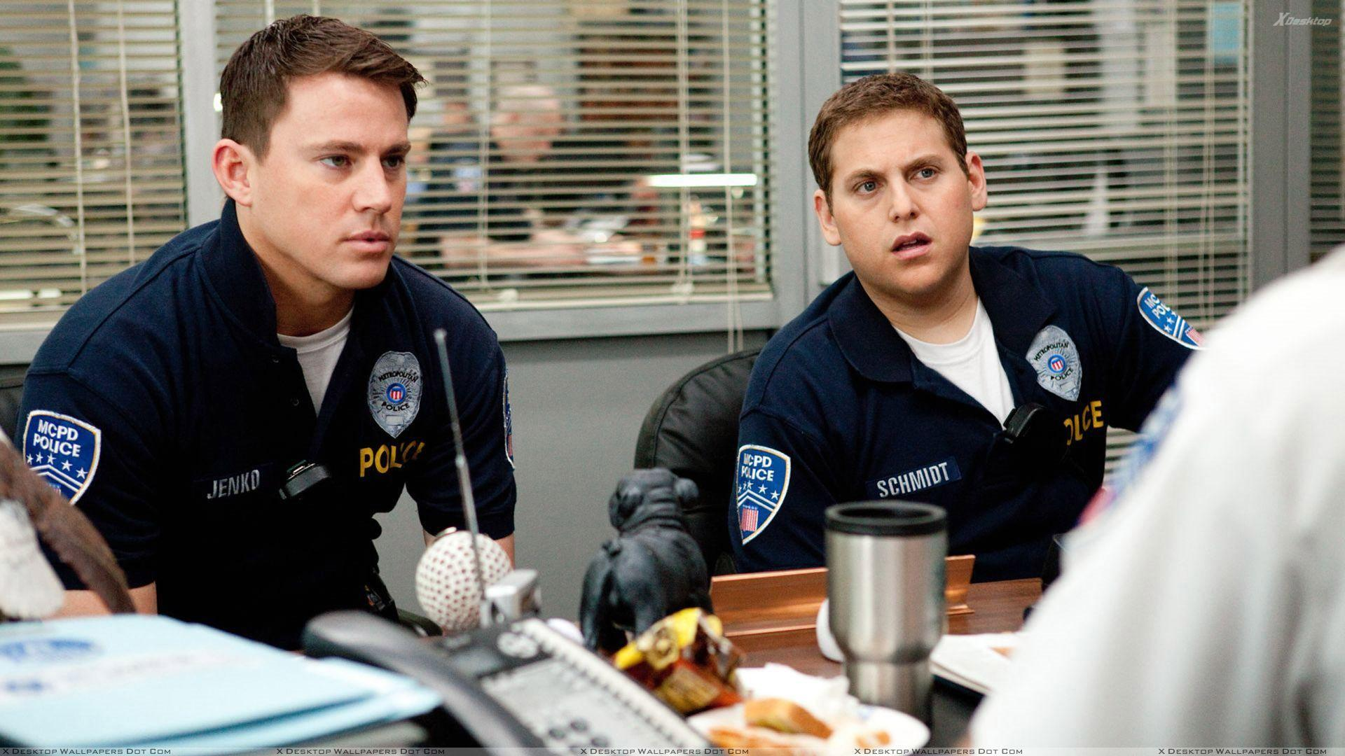 21 Jump Street – Channing Tatum With Jonah Hill Sitting In Office ...