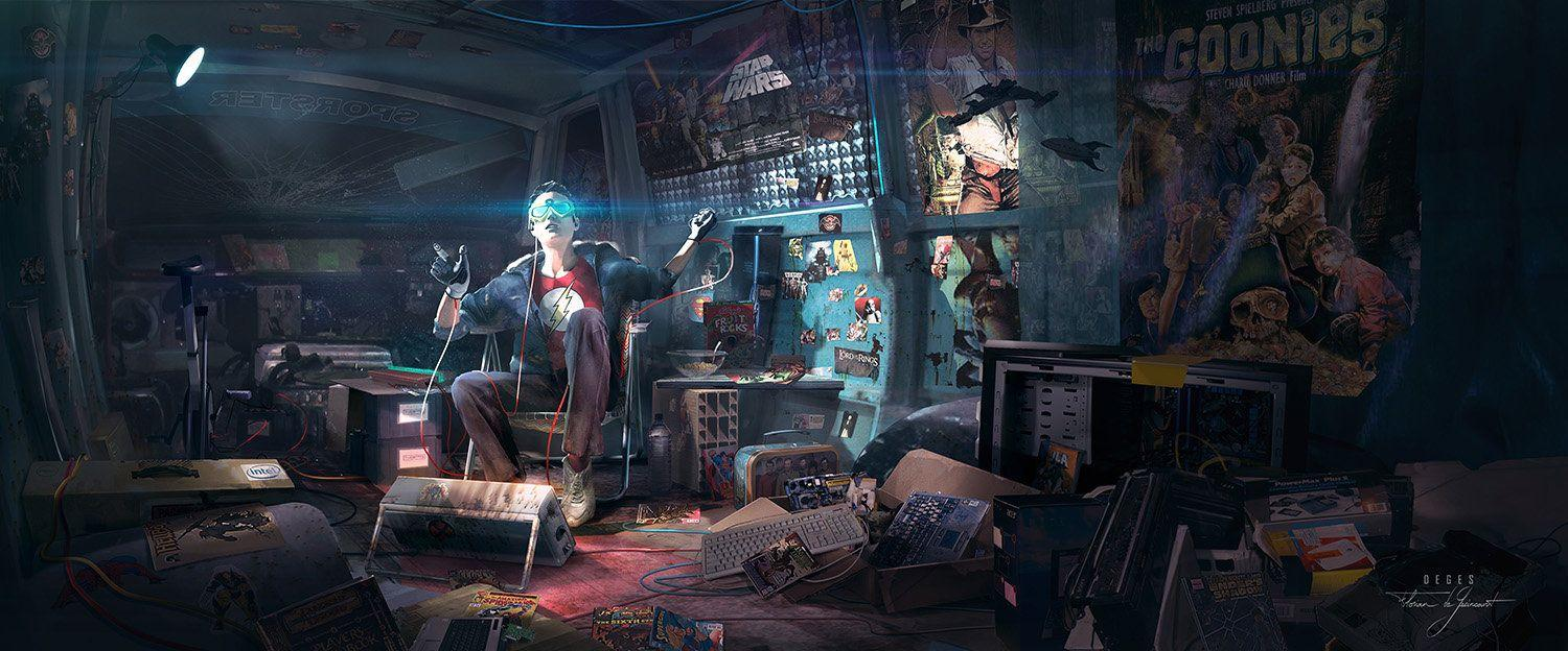 Ready Player One by Florian de Gesincourt : ImaginaryMindscapes