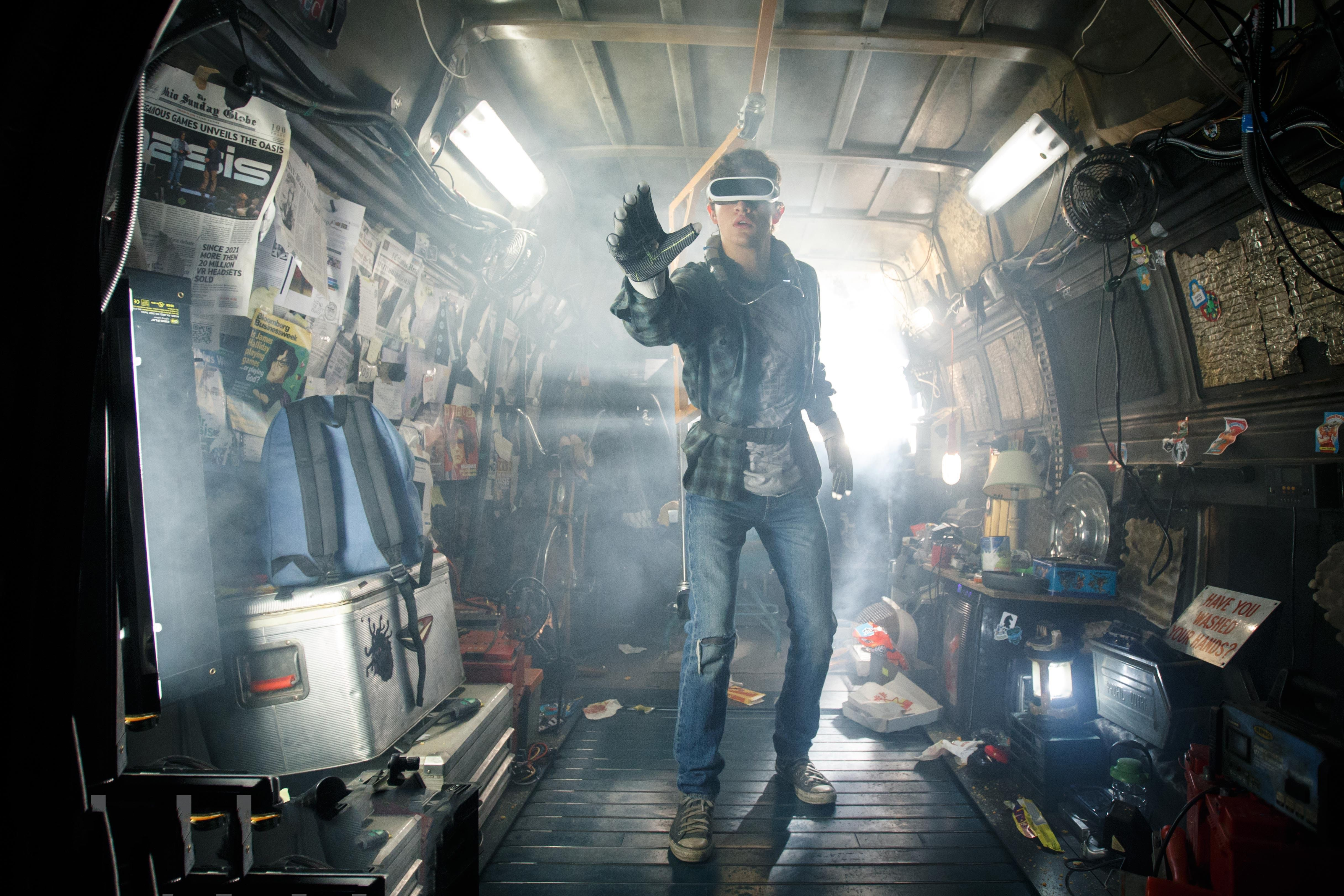 Wallpaper Ready Player One, Action, Sci-Fi, Thriller, Steven ...