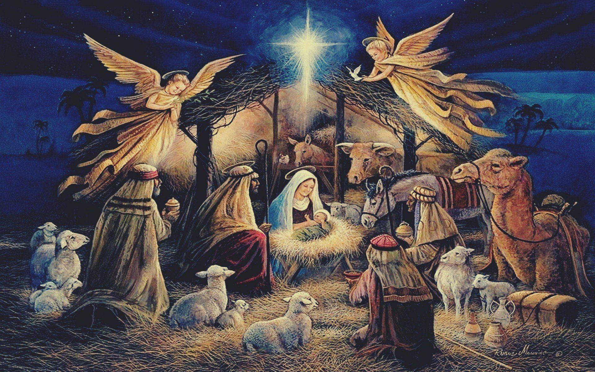 Christmas Jesus Christ Wallpapers - Wallpaper Cave