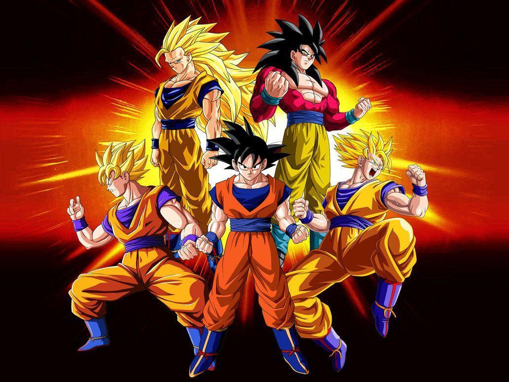 Son Goku Ssj4 Wallpaper Hd
