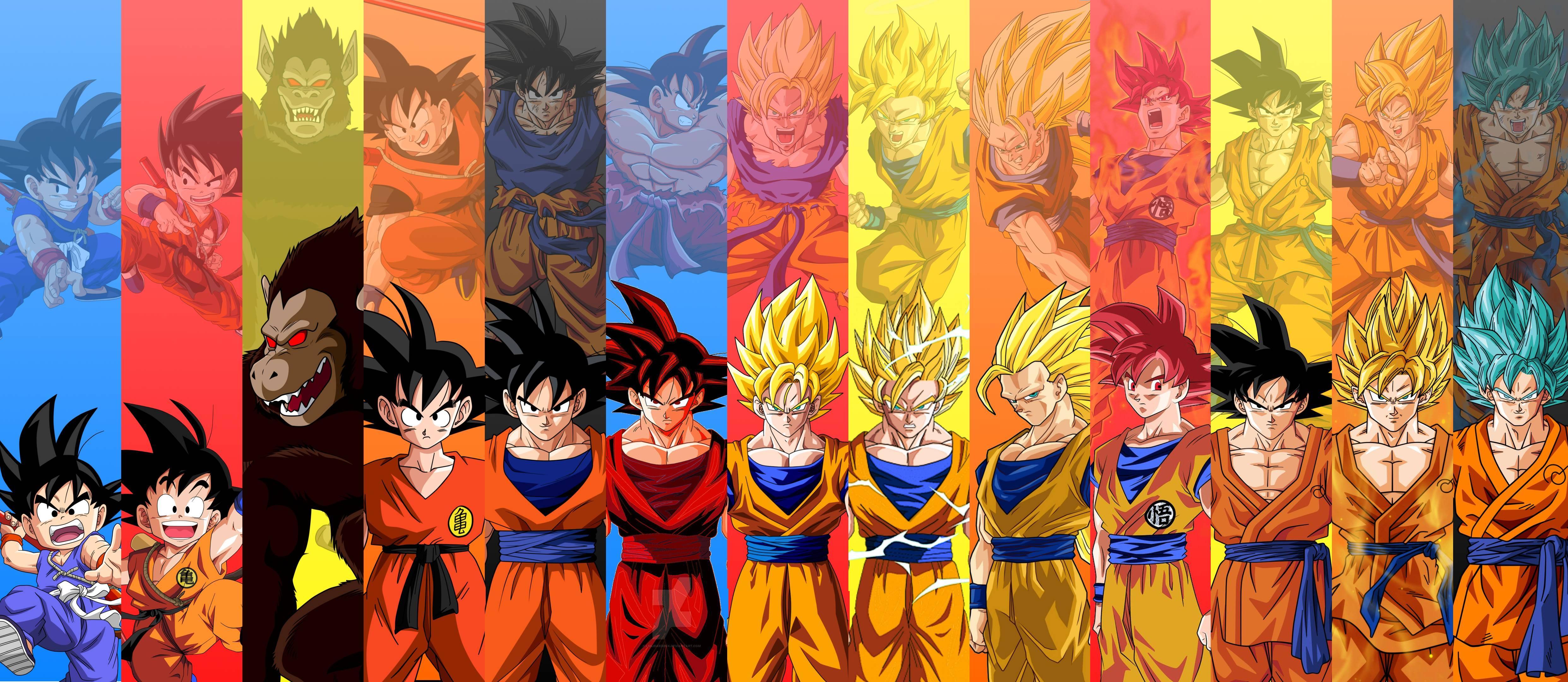Goku Super Saiyan 4 Wallpapers