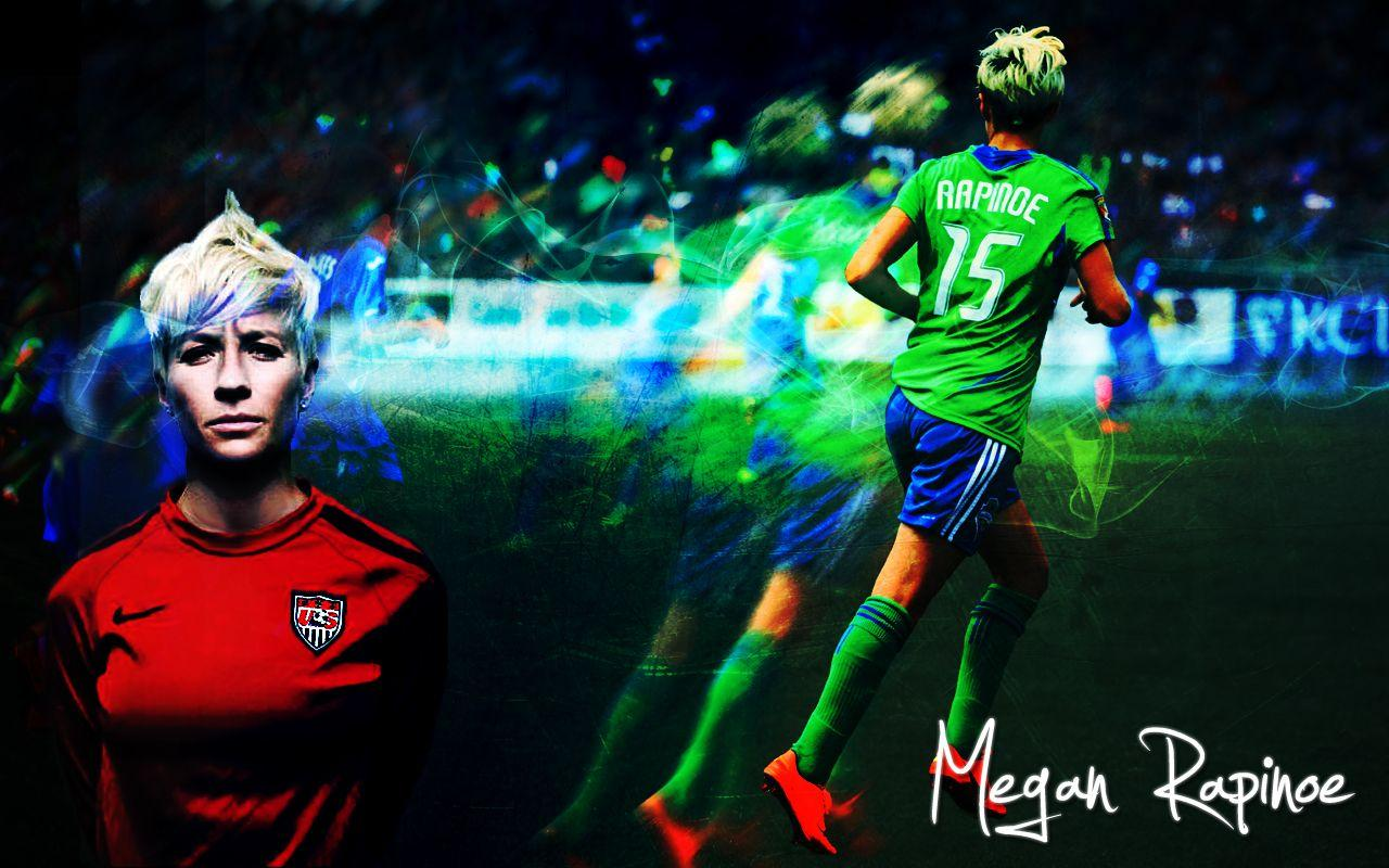 Megan Rapinoe Wallpapers by colormesnazzy