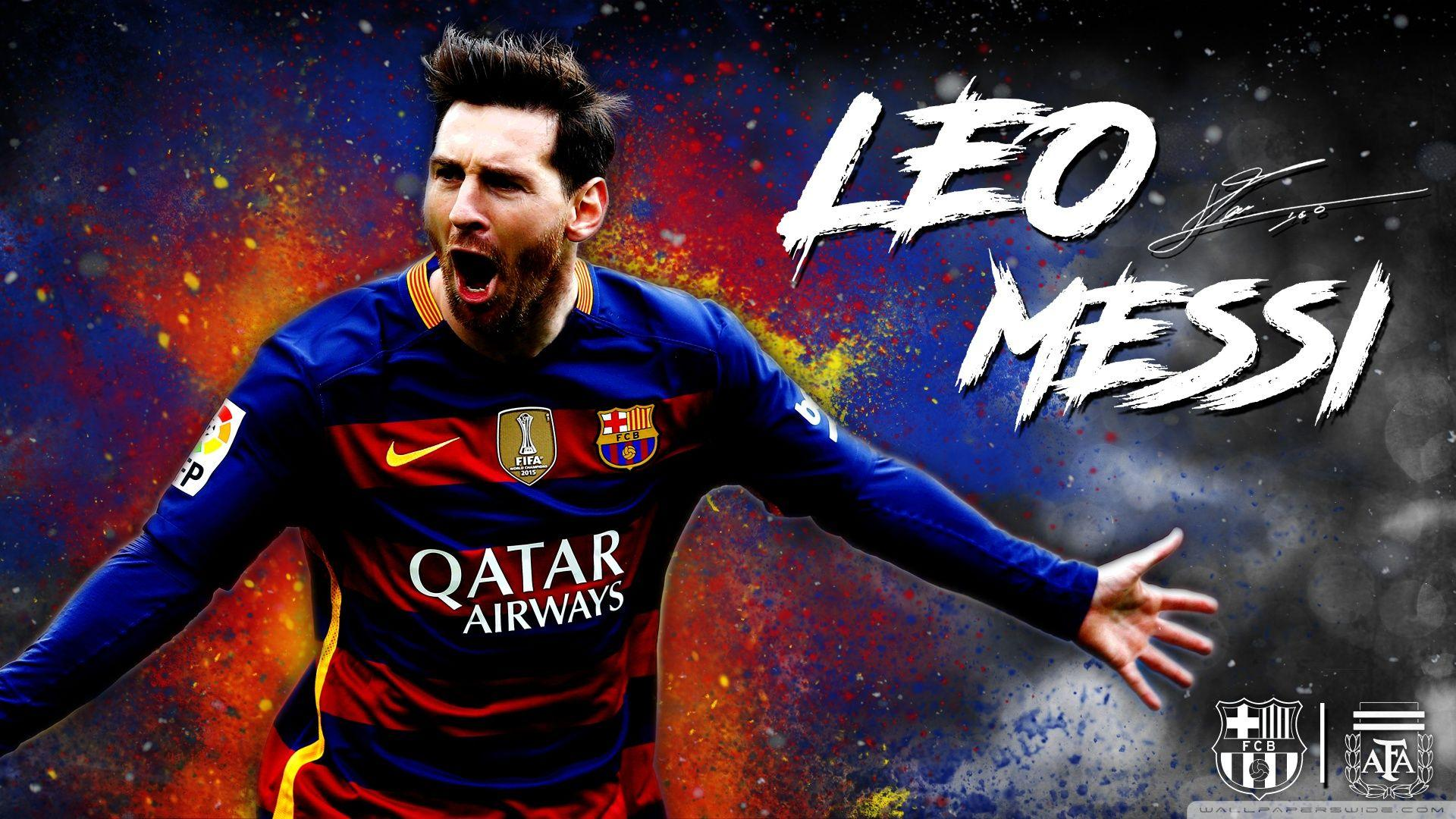 Messi Barcelona Wallpapers Wallpaper Cave