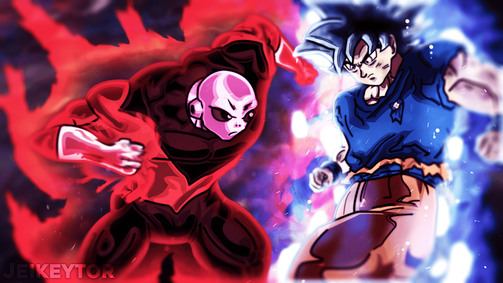 Goku Vs Jiren Wallpapers Wallpaper Cave