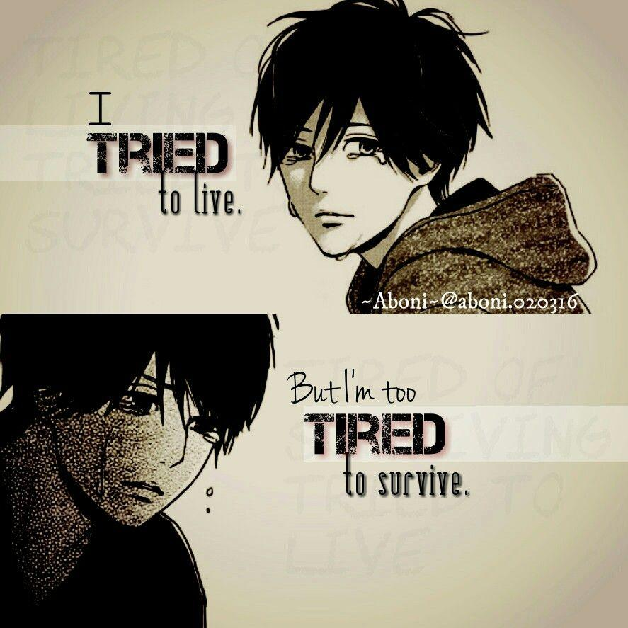 Saying Quotes About Sadness: Anime Quotes Wallpapers