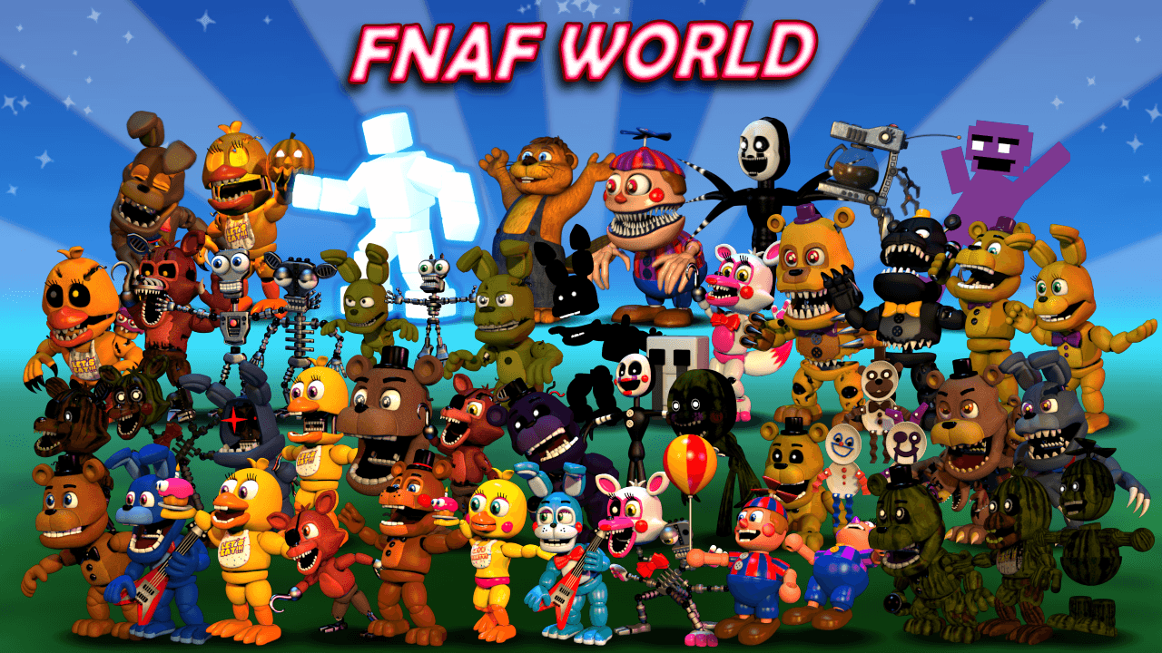 FNaF World Wallpapers - Wallpaper Cave