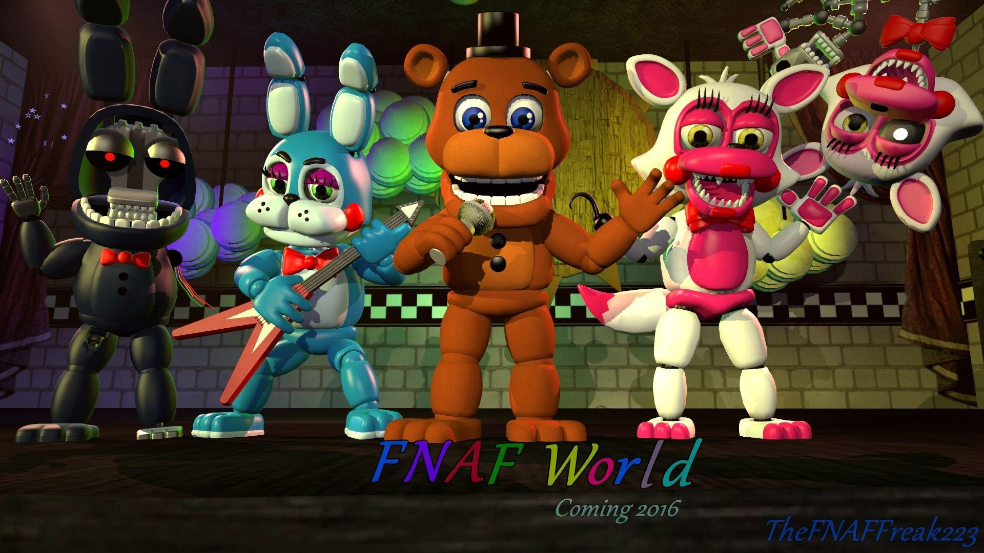 how to download fnaf world on ipad