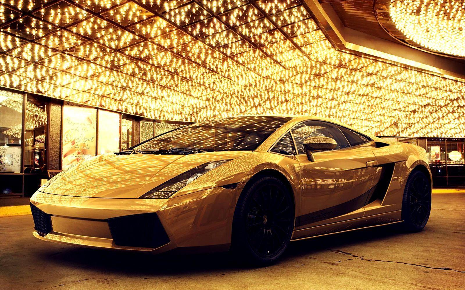 Gold Car Wallpapers - Wallpaper Cave