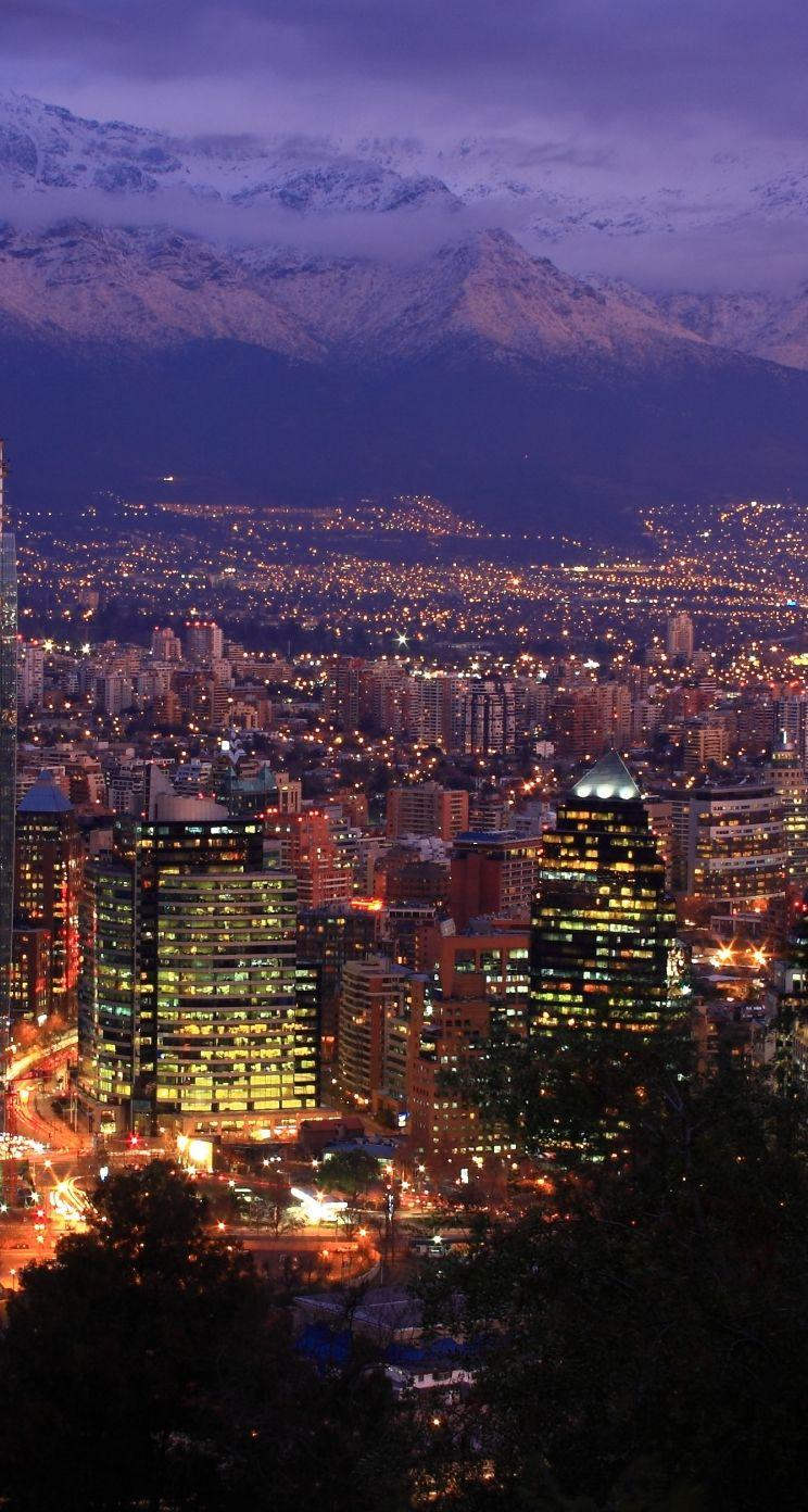 Santiago Chile iPhone se Wallpaper Download | iPhone Wallpapers ...