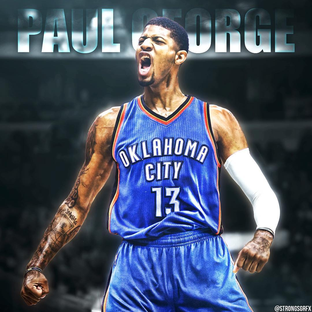 Paul George is heading to #OKC || Thoughts? || # #sportsposters