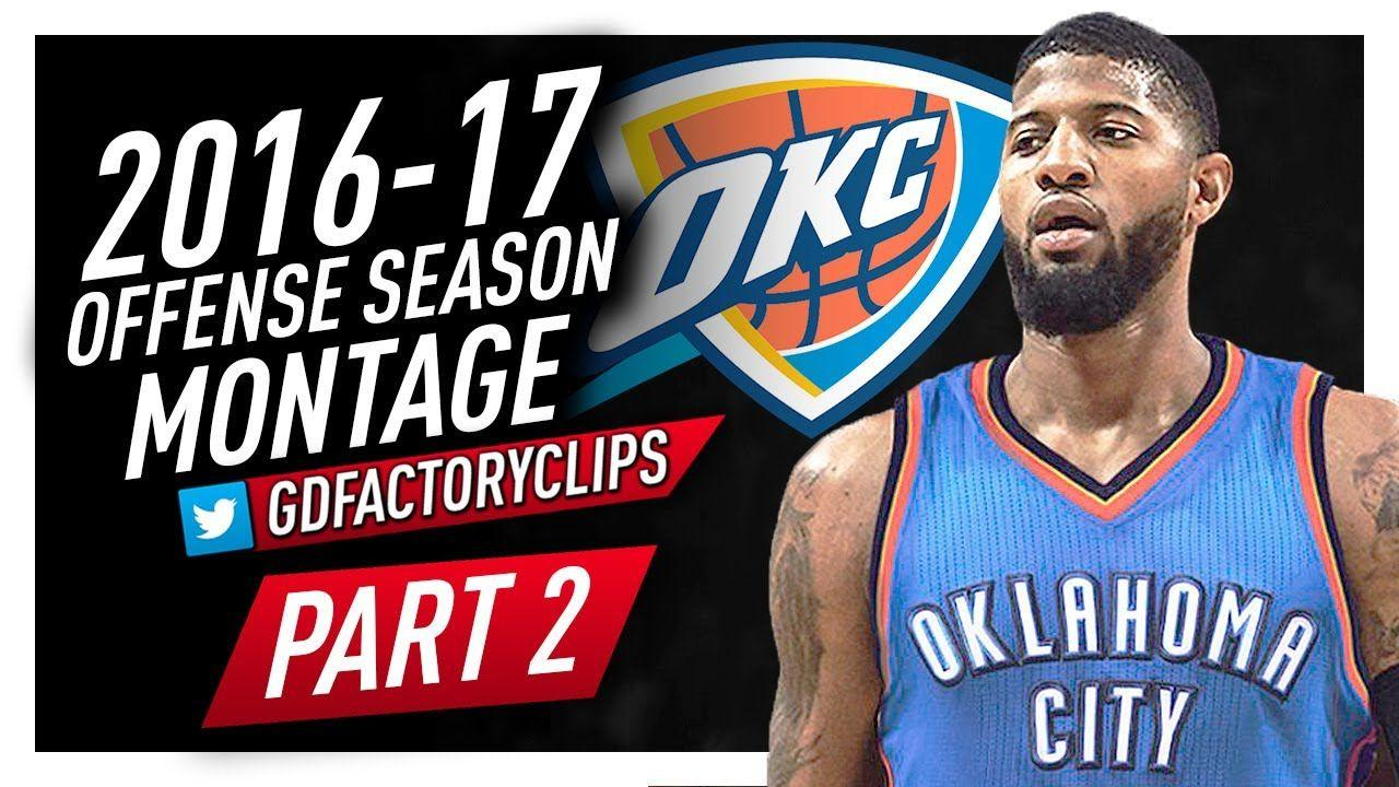 Paul George Oklahoma City Thunder Wallpaper 2017 - Live Wallpaper HD