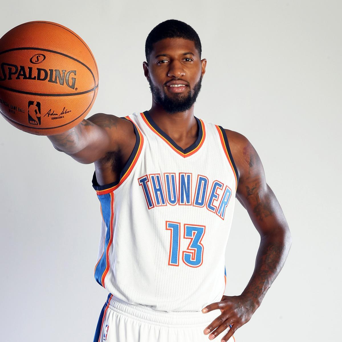 James Harden And Paul George: Paul George Oklahoma City Thunder Wallpapers