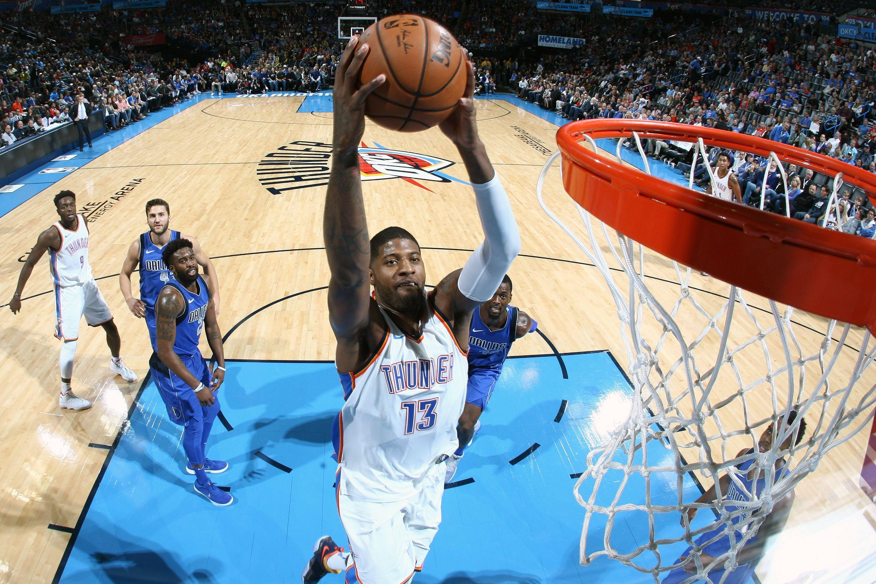Oklahoma City Thunder: Paul George putting the team on his back