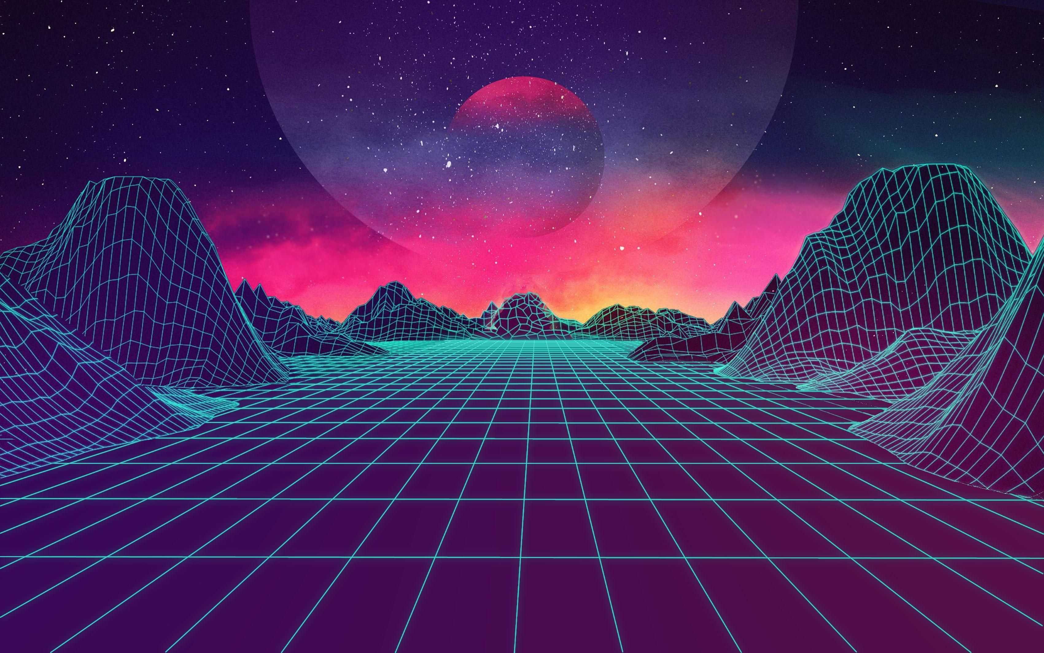 1080p Retro Wave Wallpapers Wallpaper Cave