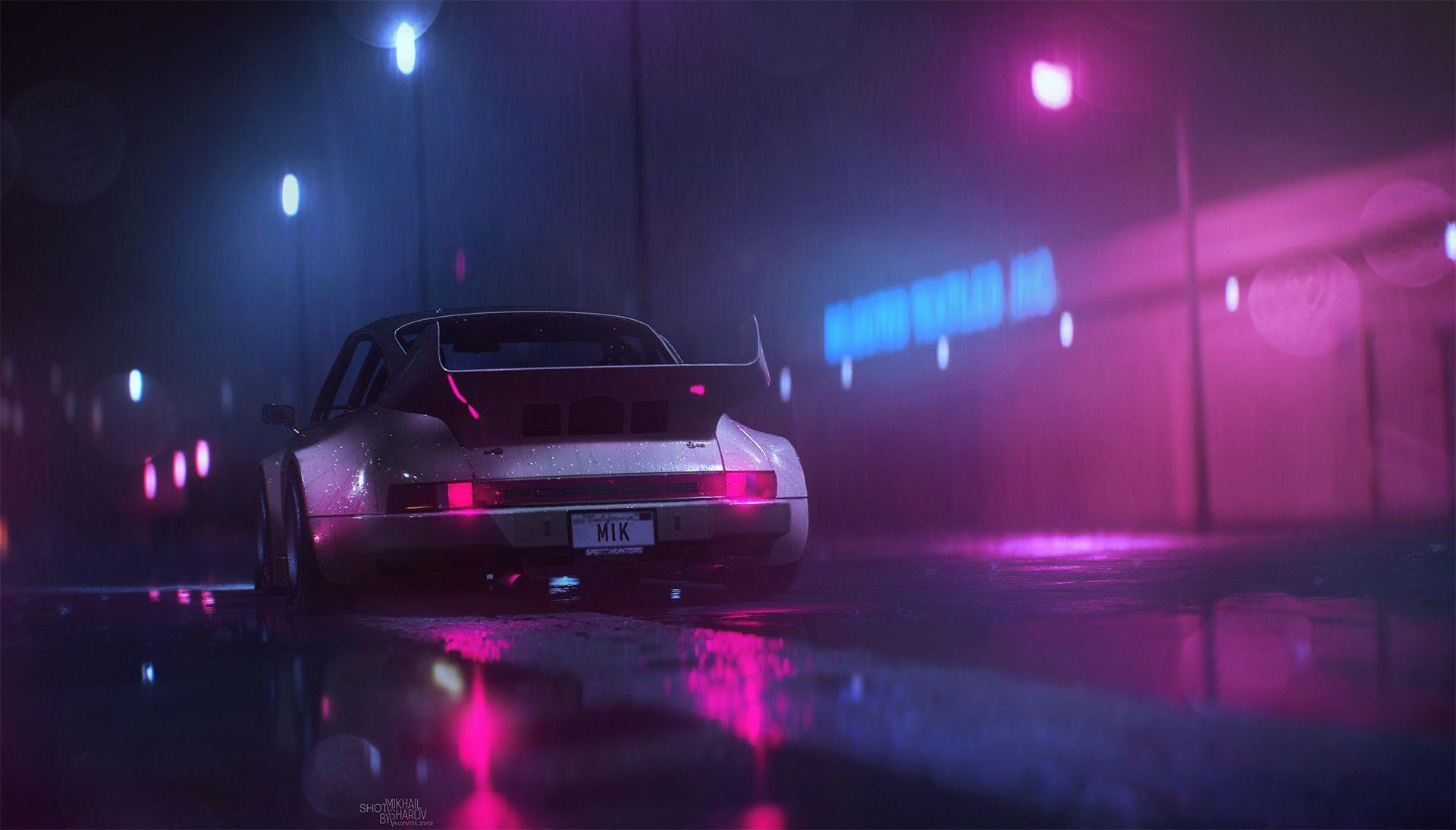 Some of the best new Retrowave/Synthwave wallpapers and artwork