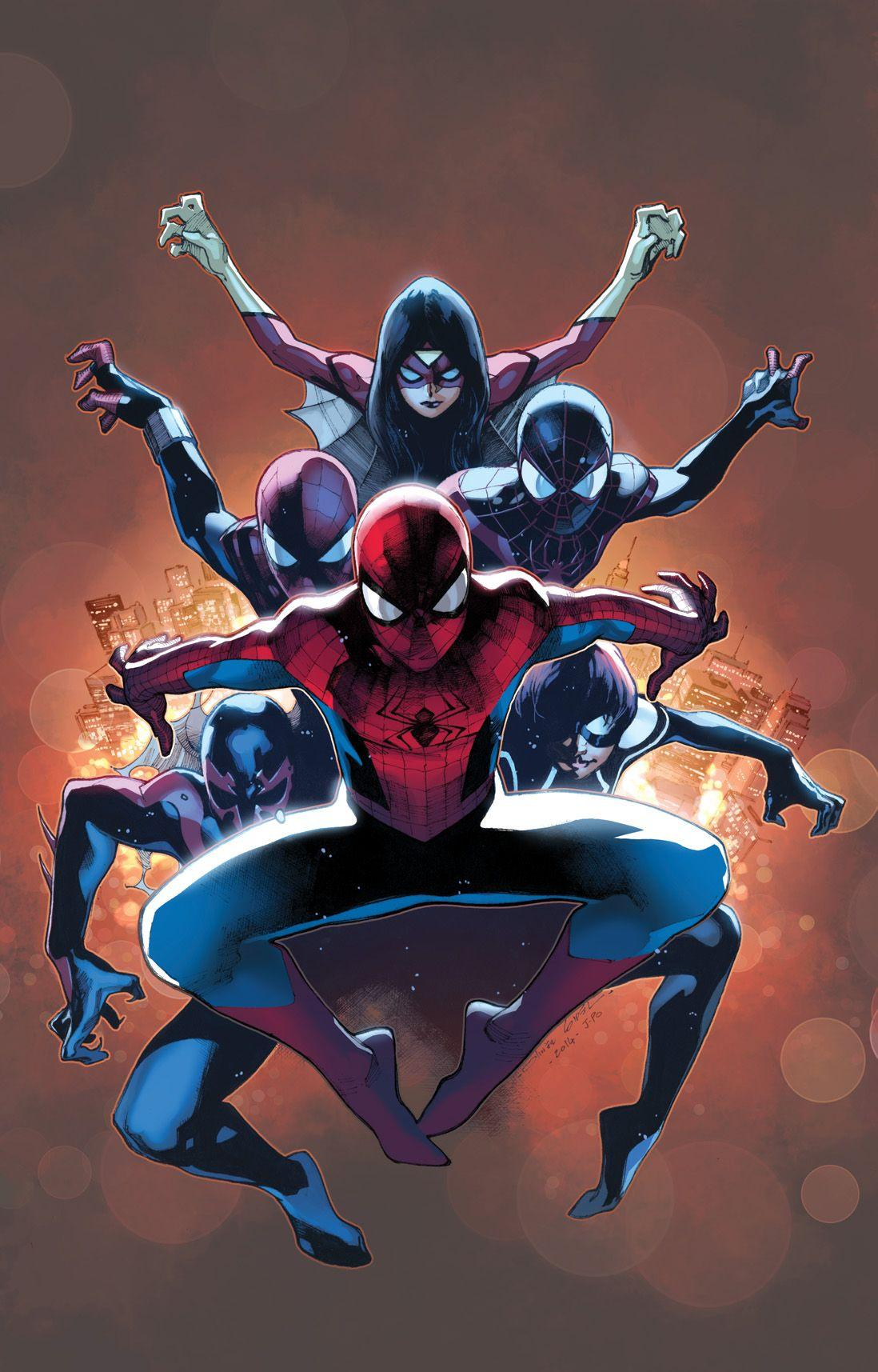 Spider Verse Wallpapers Wallpaper Cave