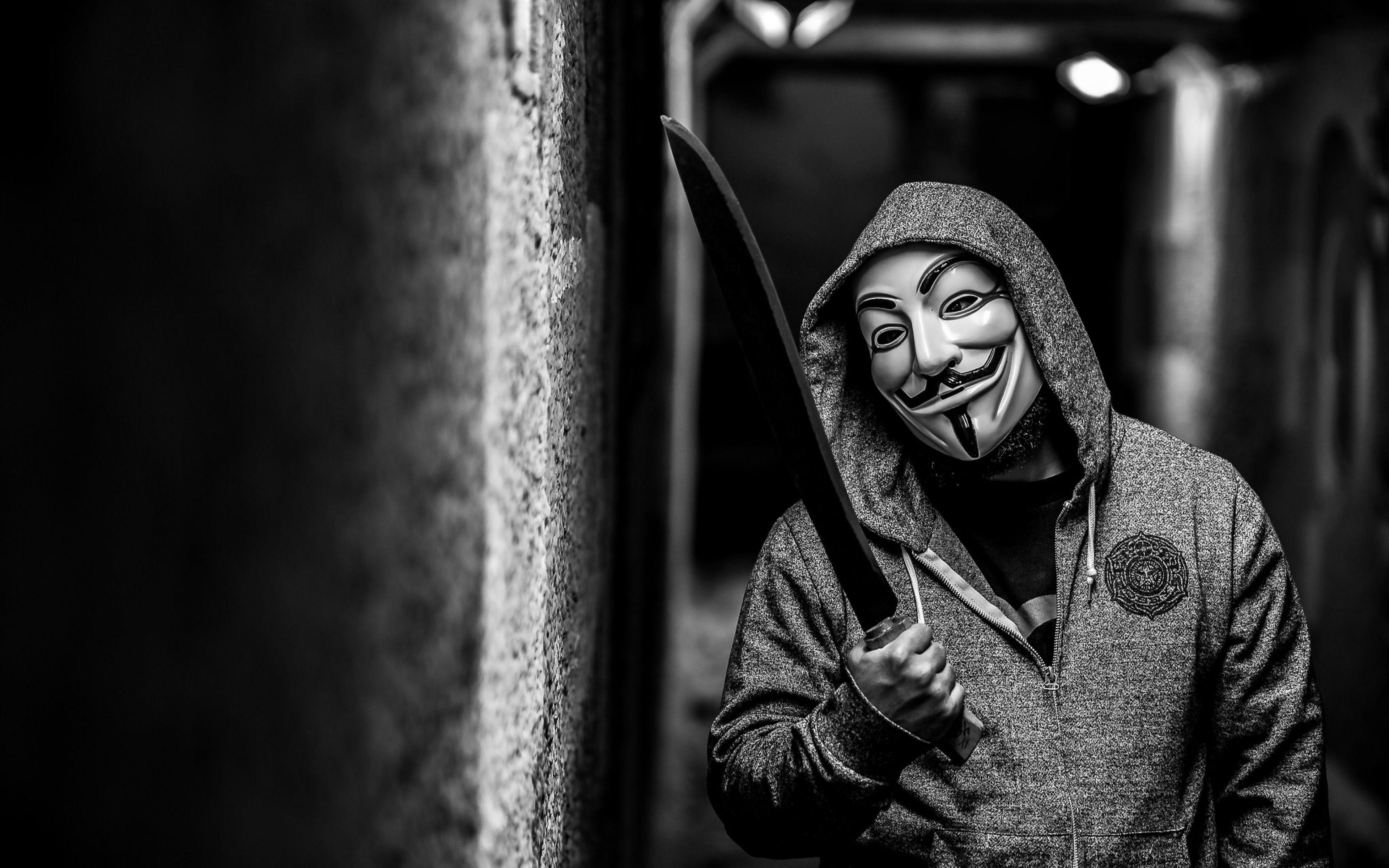 Hacker Mask Wallpapers Wallpaper Cave